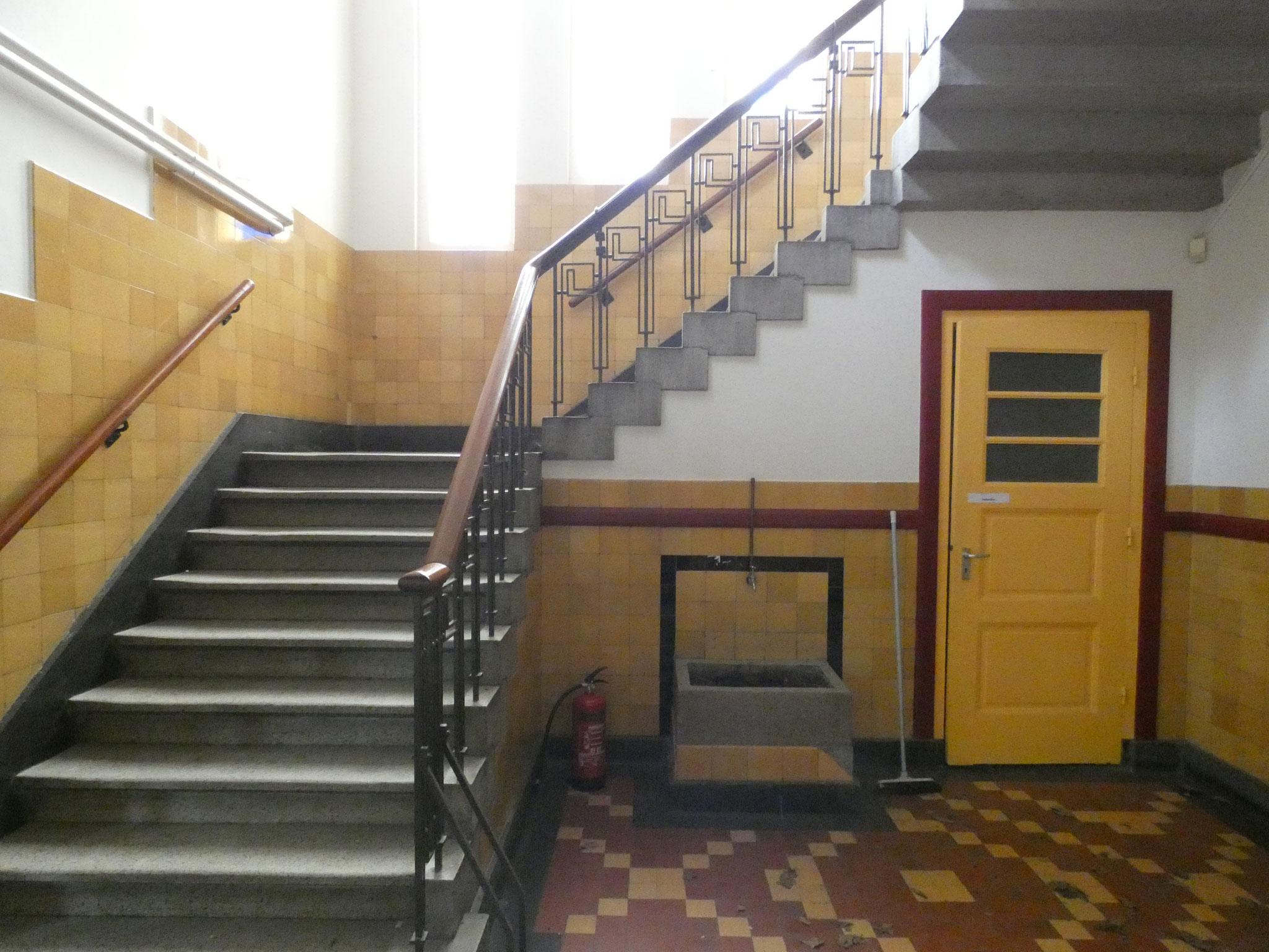 Authentieke trappenhuis.