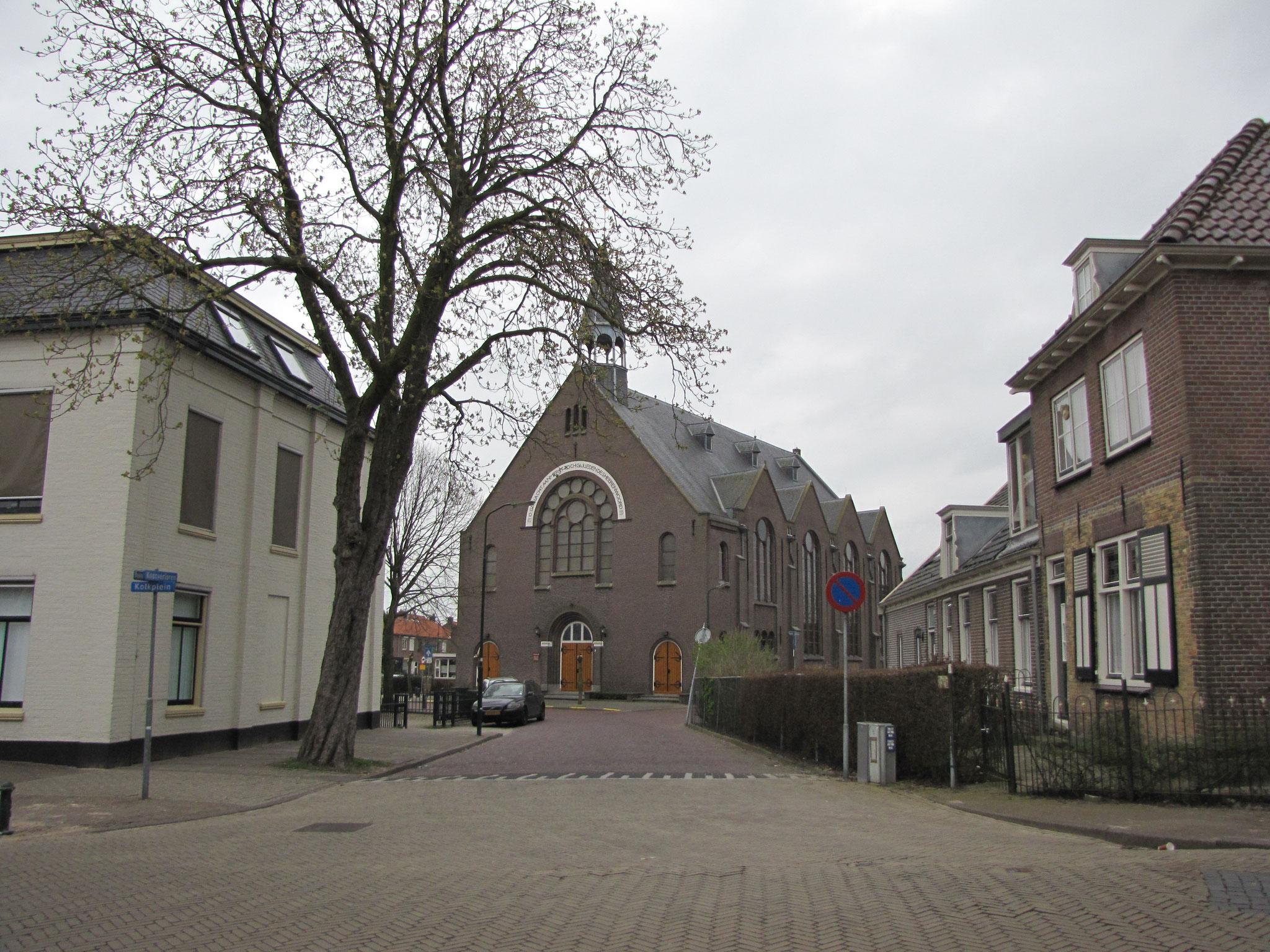Straatbeeld Dorpsstraat-Kolkplein-Kostverloren