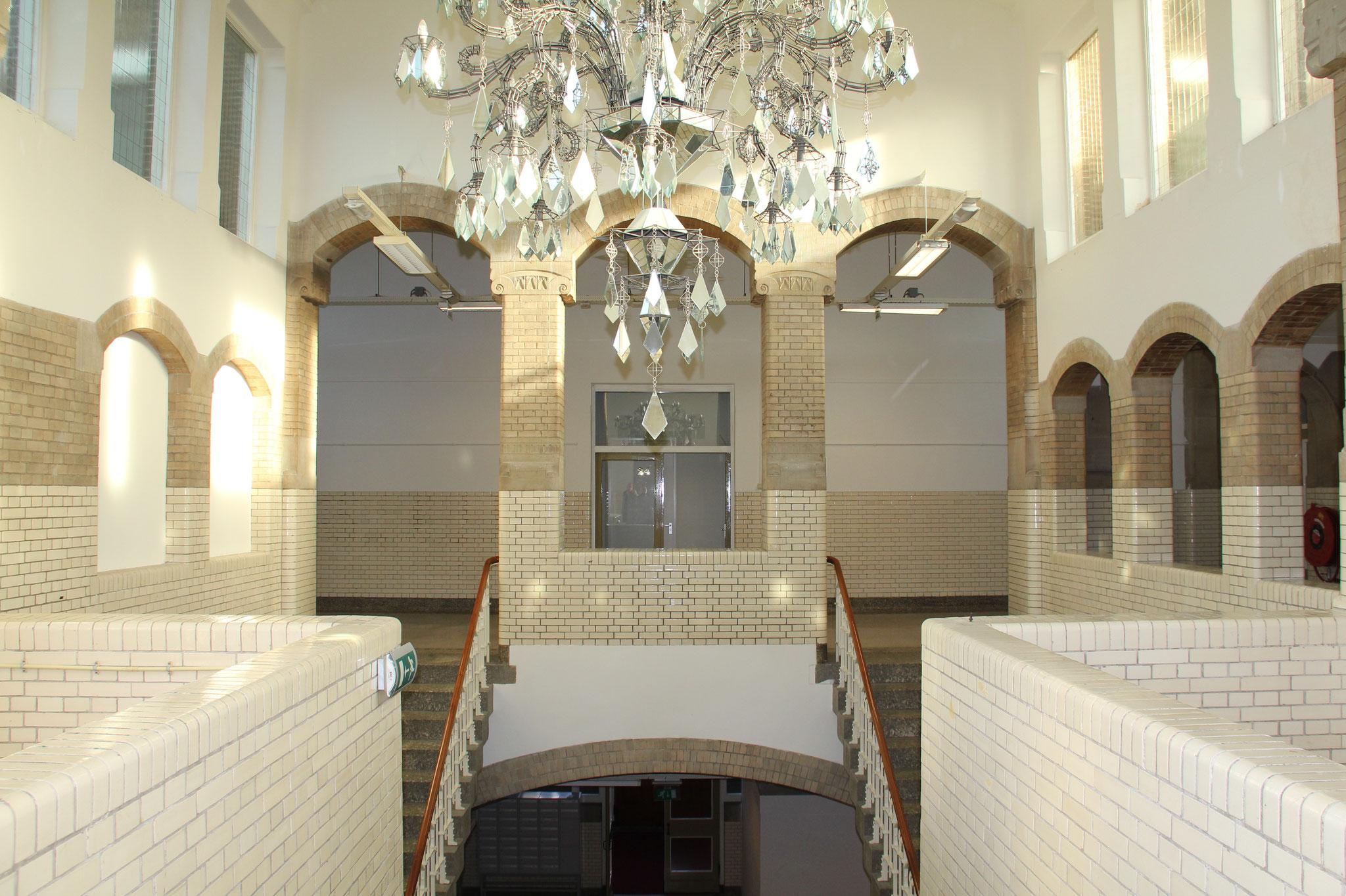 Trappenhuis, waarvan gezegd wordt dat M.C. Escher deze als inspiratie voor zijn tekeningen heeft gebruikt.
