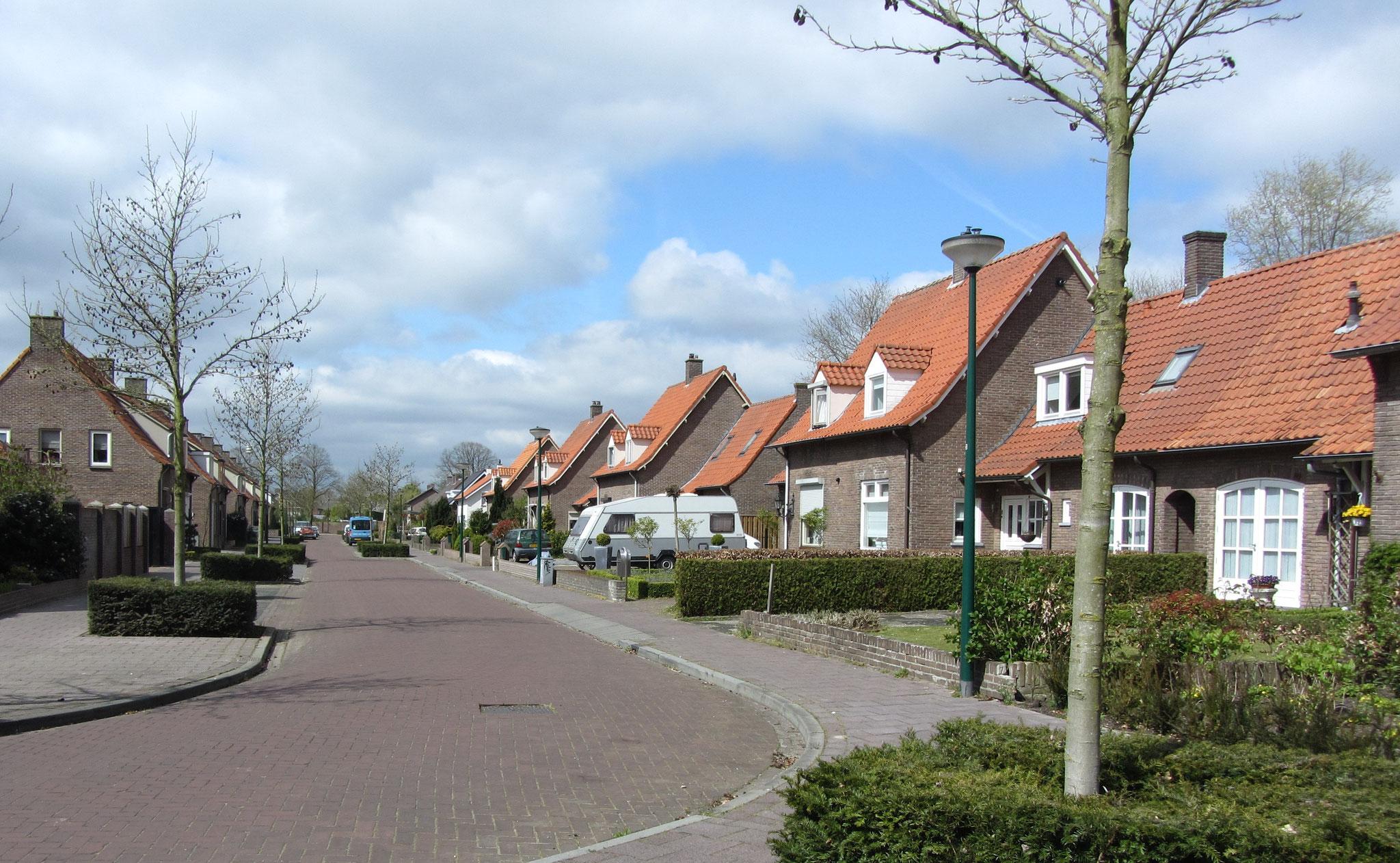 StraatbeeldHeesch, gebiedstype woningbouw uit de Wederopbouw