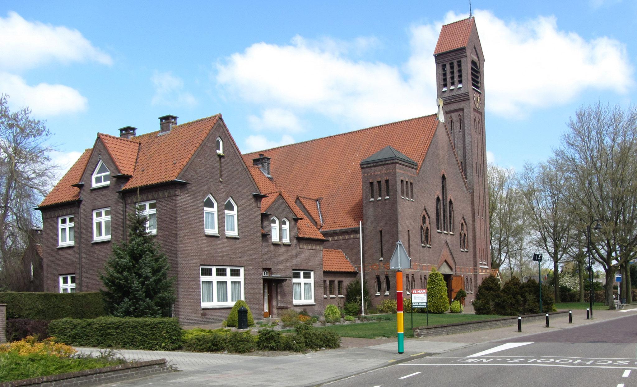 Straatbeeld Vorstenbosch, gebiedstype historisch dorpscentrum