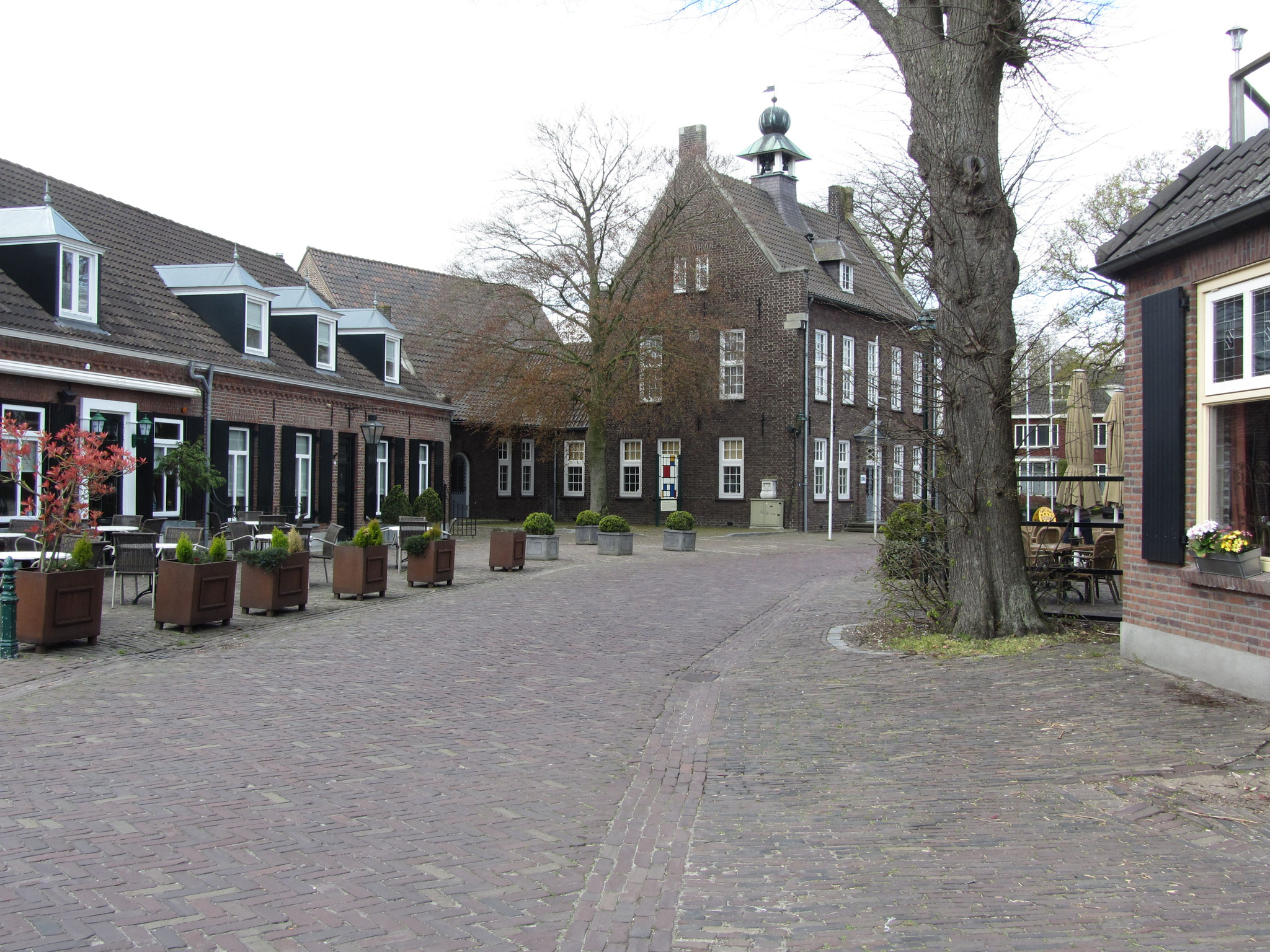 Straatbeeld Nistelrode, gebiedstype historisch dorpscentrum