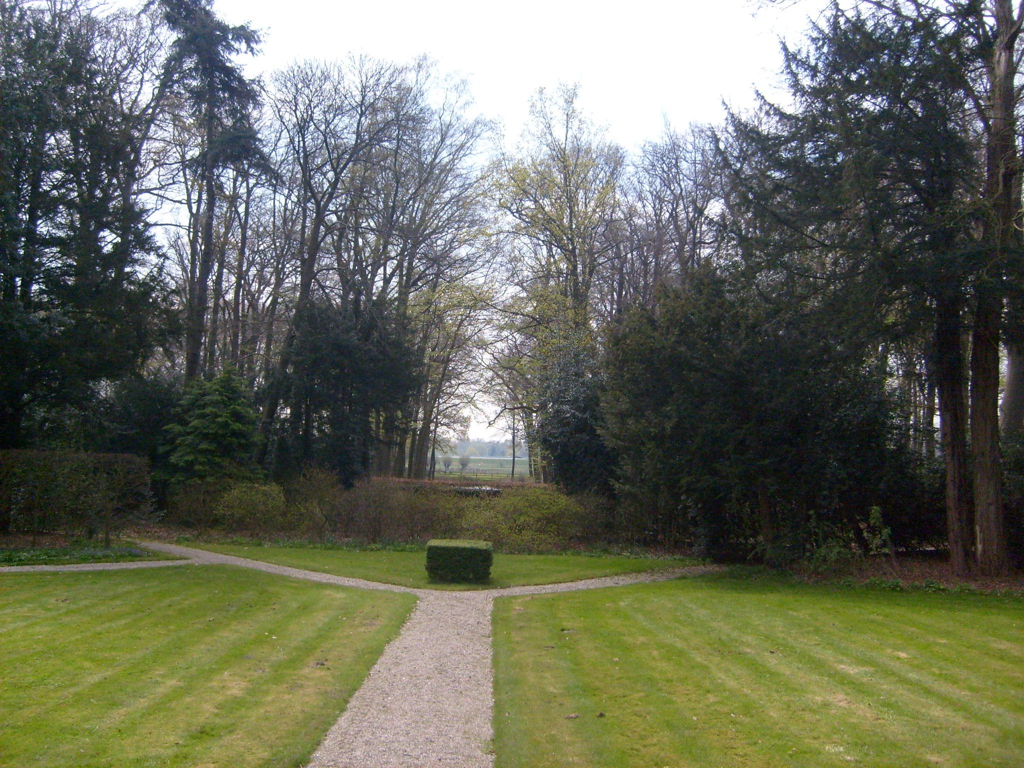 De behouden geometrische padenstructuur van D.F. Tersteeg.