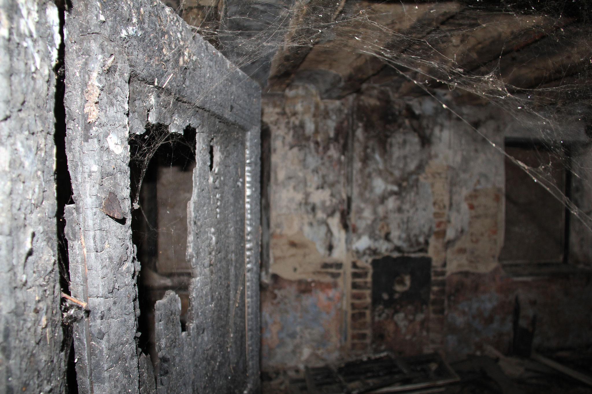 Uitgebrande voorkamer