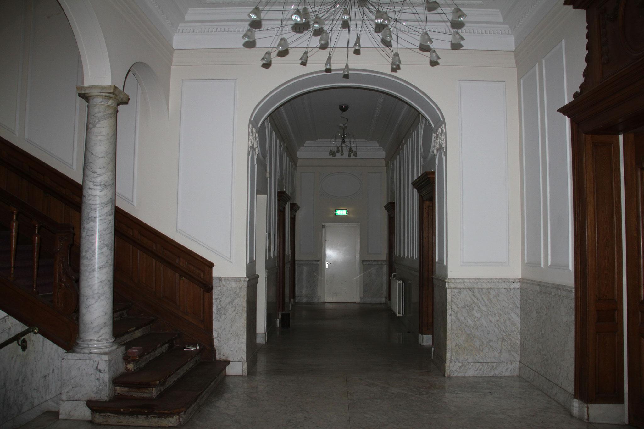 Interieur van Veldheim, begane grond