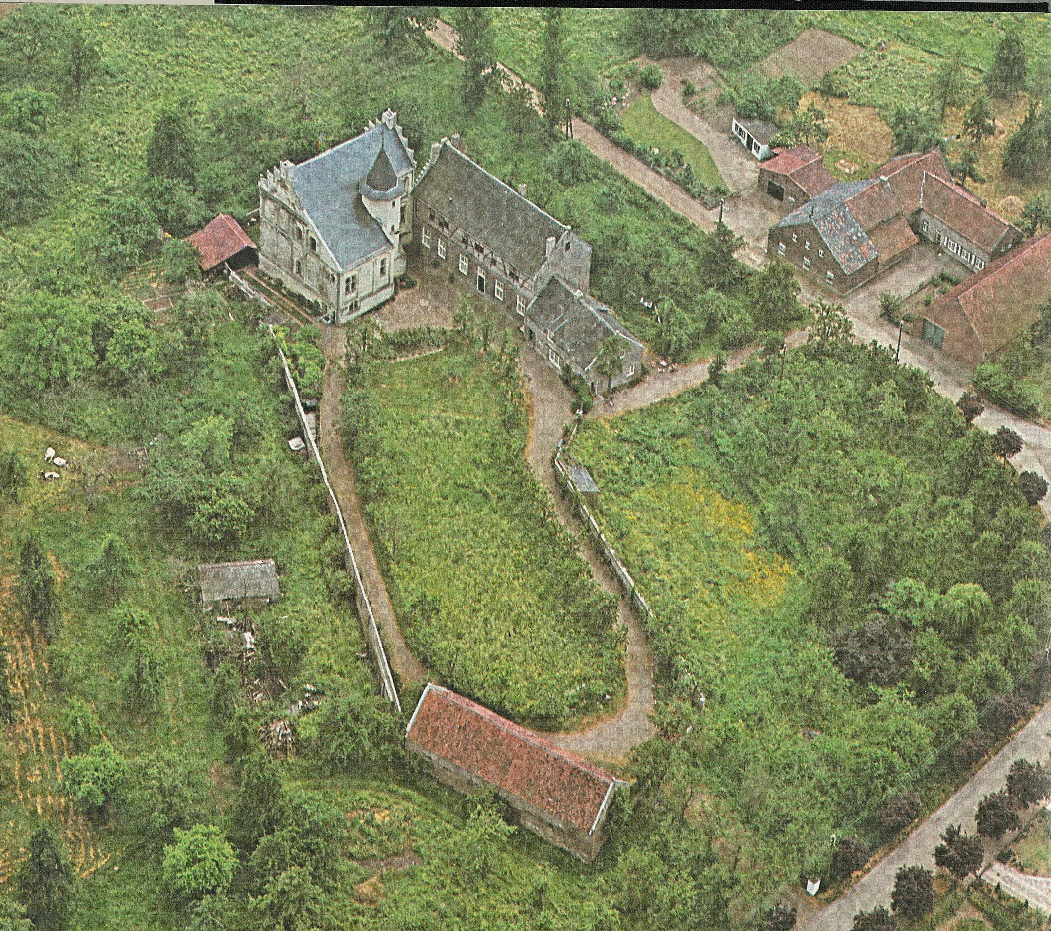 Overzicht van kasteel Hasselholt.
