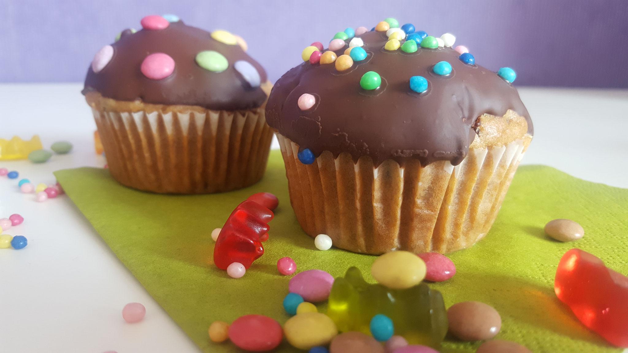 Fertige Mut-Mach-Muffins