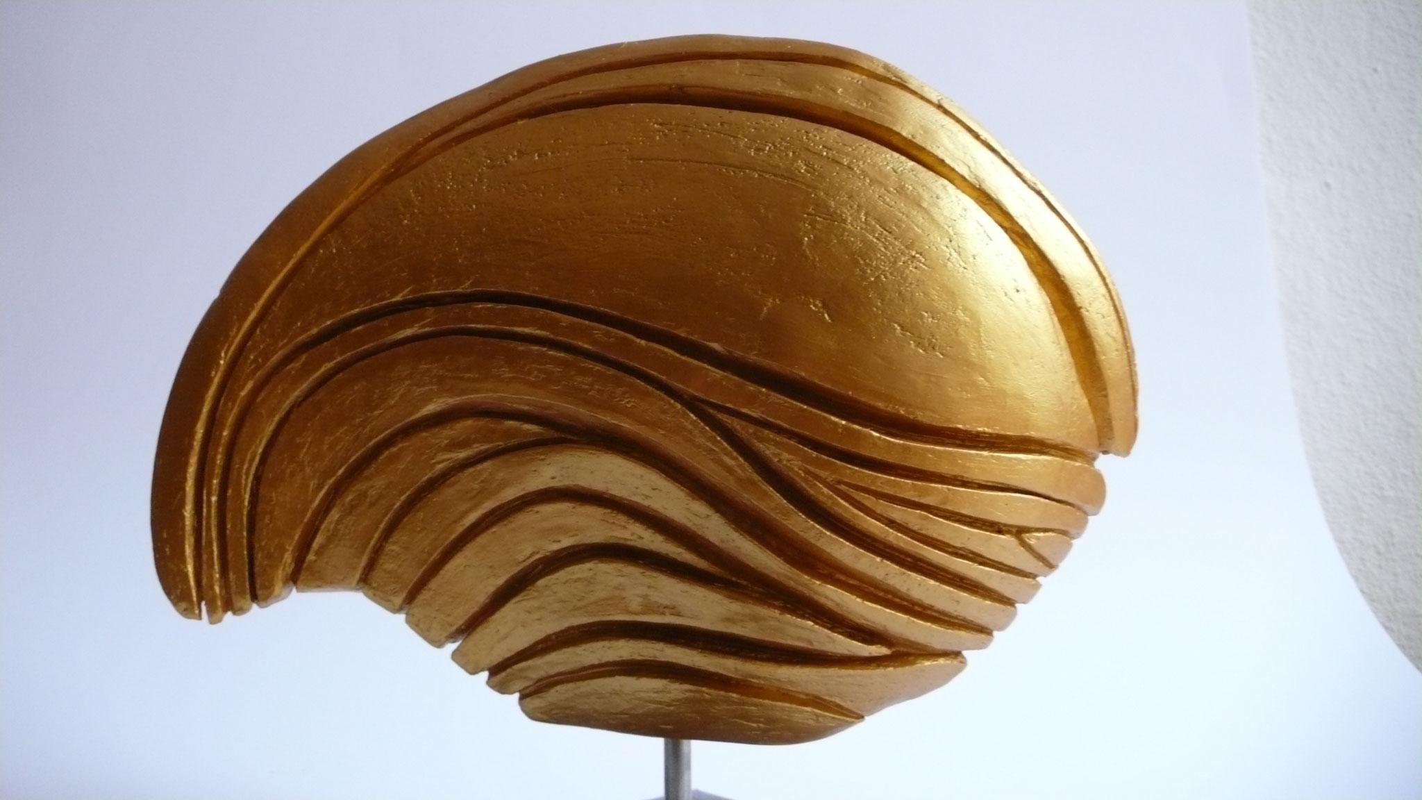7.12., Skulptur von Brigitte Trompke, Berlin-Friedenau, A25