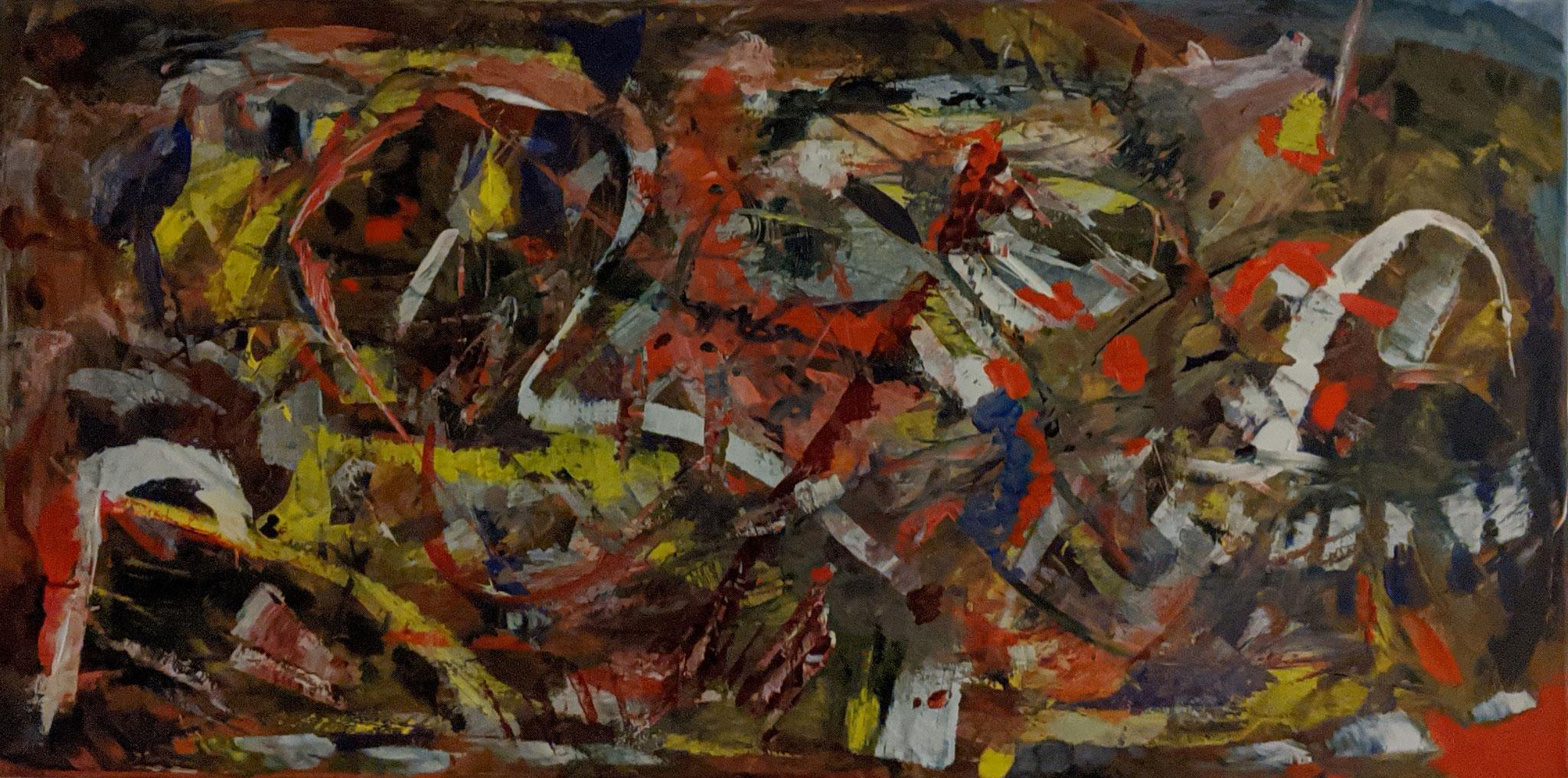 4.1., Gemälde im XXL-Format von Hagen van den Boom, Havelsee, A2