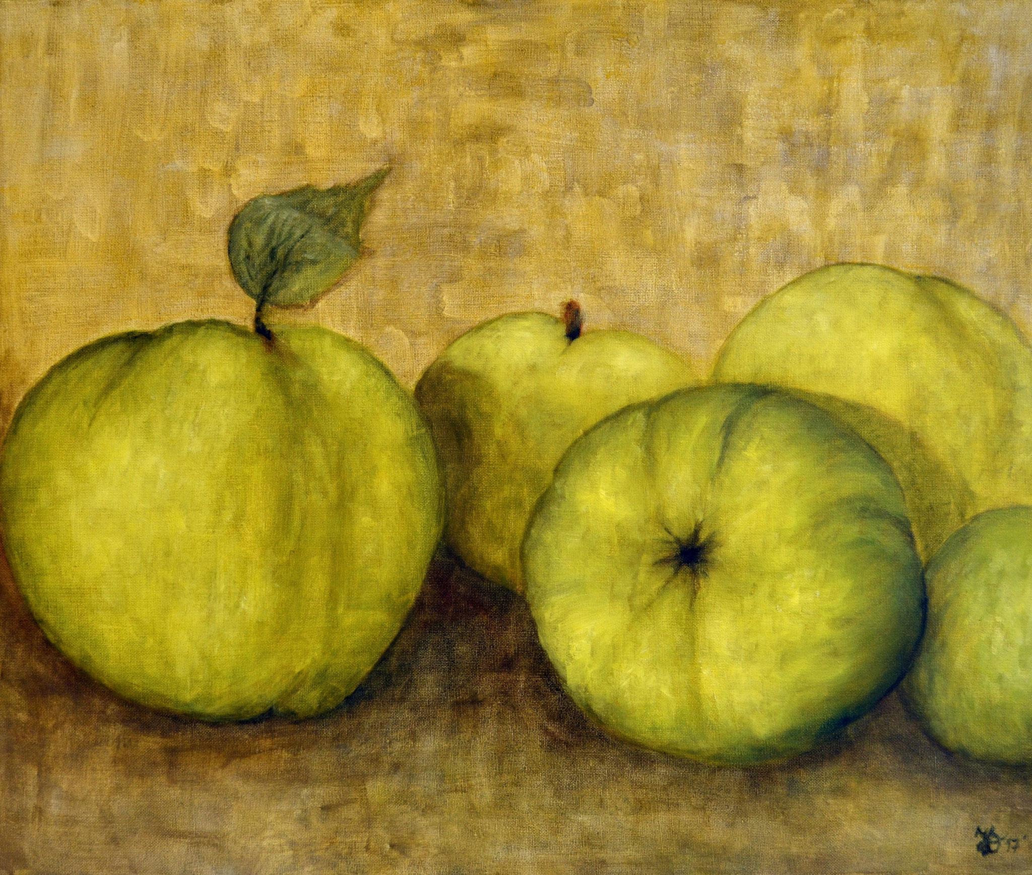 """7.2., """"Vitamine nicht nur für die Winterzeit""""; Gemälde von Helga Dobrick-Kroeber, Werder, A16"""