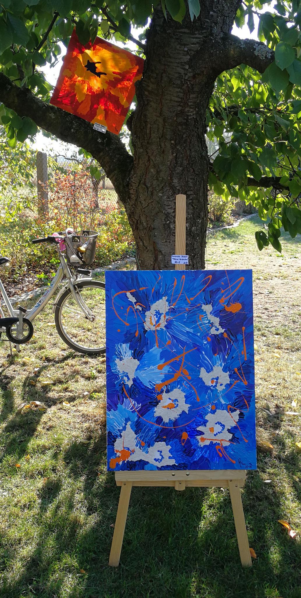 Die Ausstellung wurde mit Rad, Pkw, Motorrad und zu Fuß erreicht
