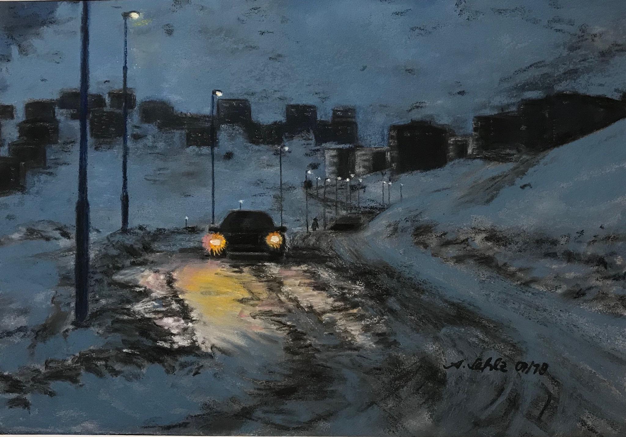 "16.12., Aquarell-, Acryl-, Pastell-""Malerei macht mich glücklich"", Annette Sehlz, Am Mellensee, A39"