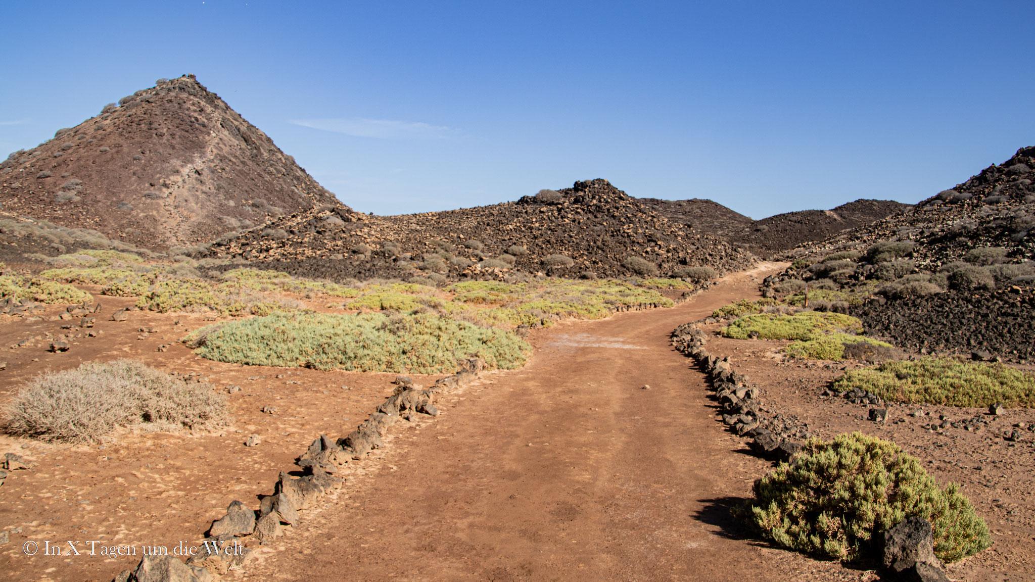 Wanderweg zu den Atalaya del Faro