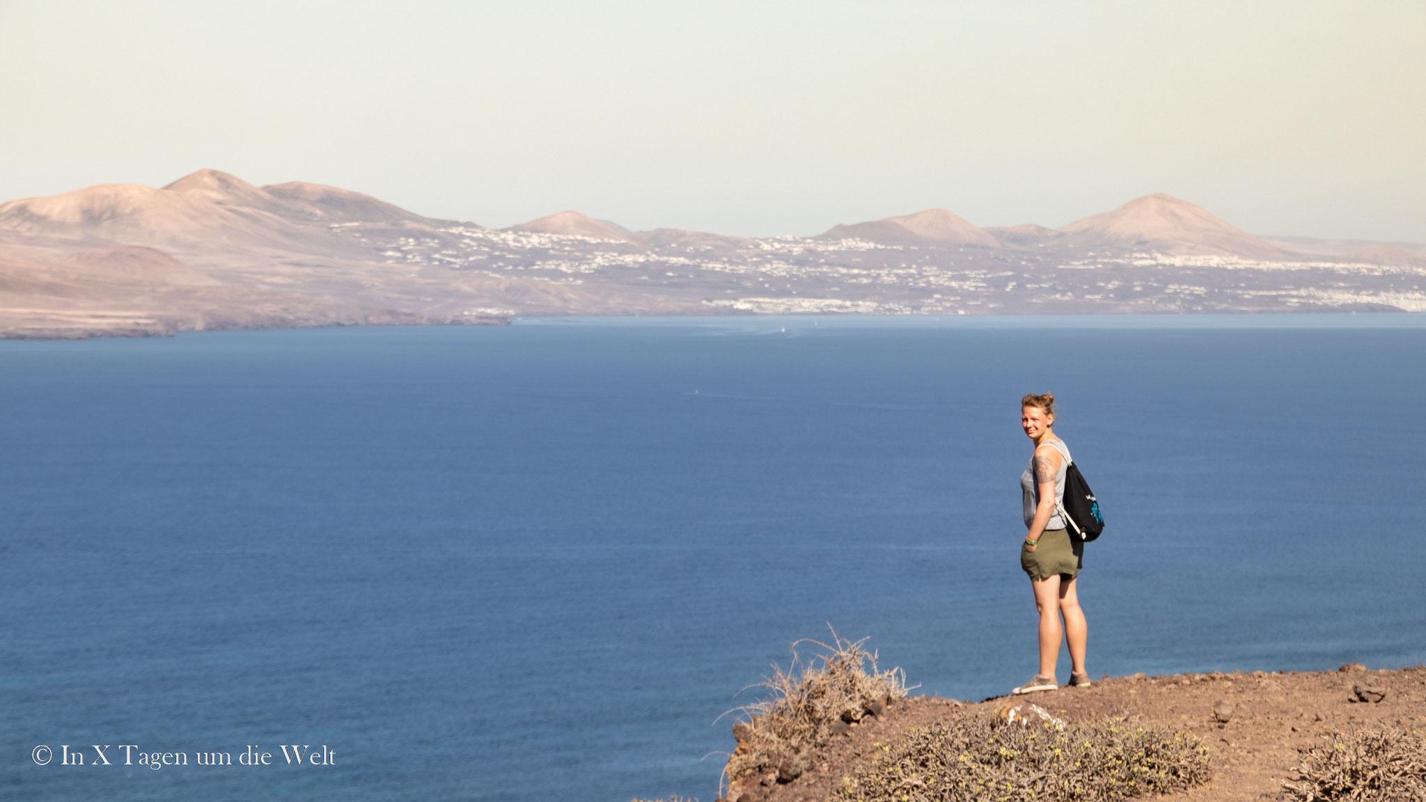 Blick nach Lanzarote