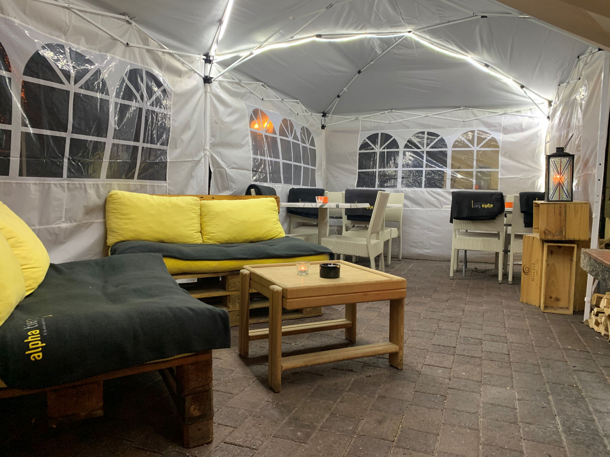 wonderful in this tent