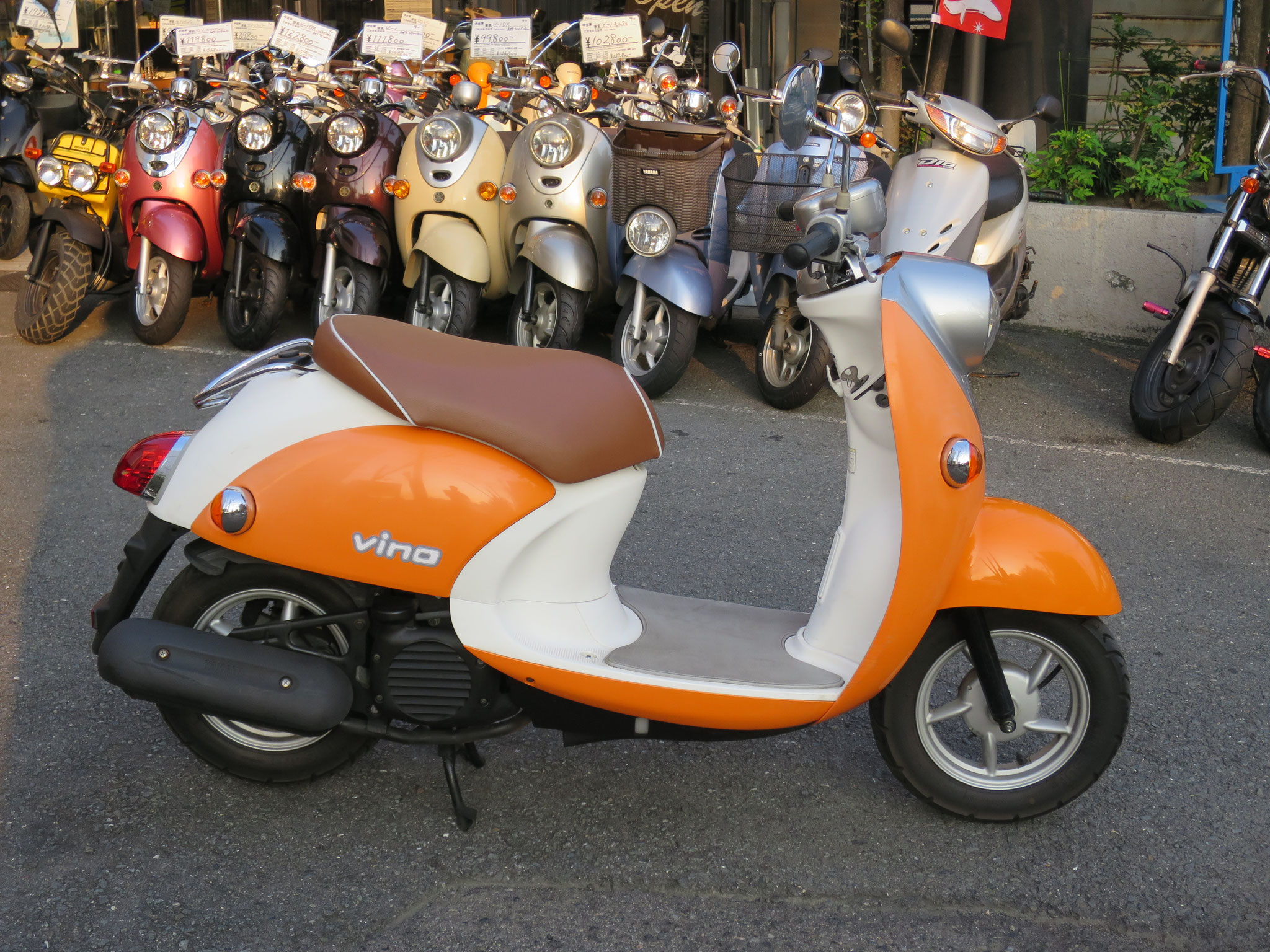 4st ビーノ オレンジ色