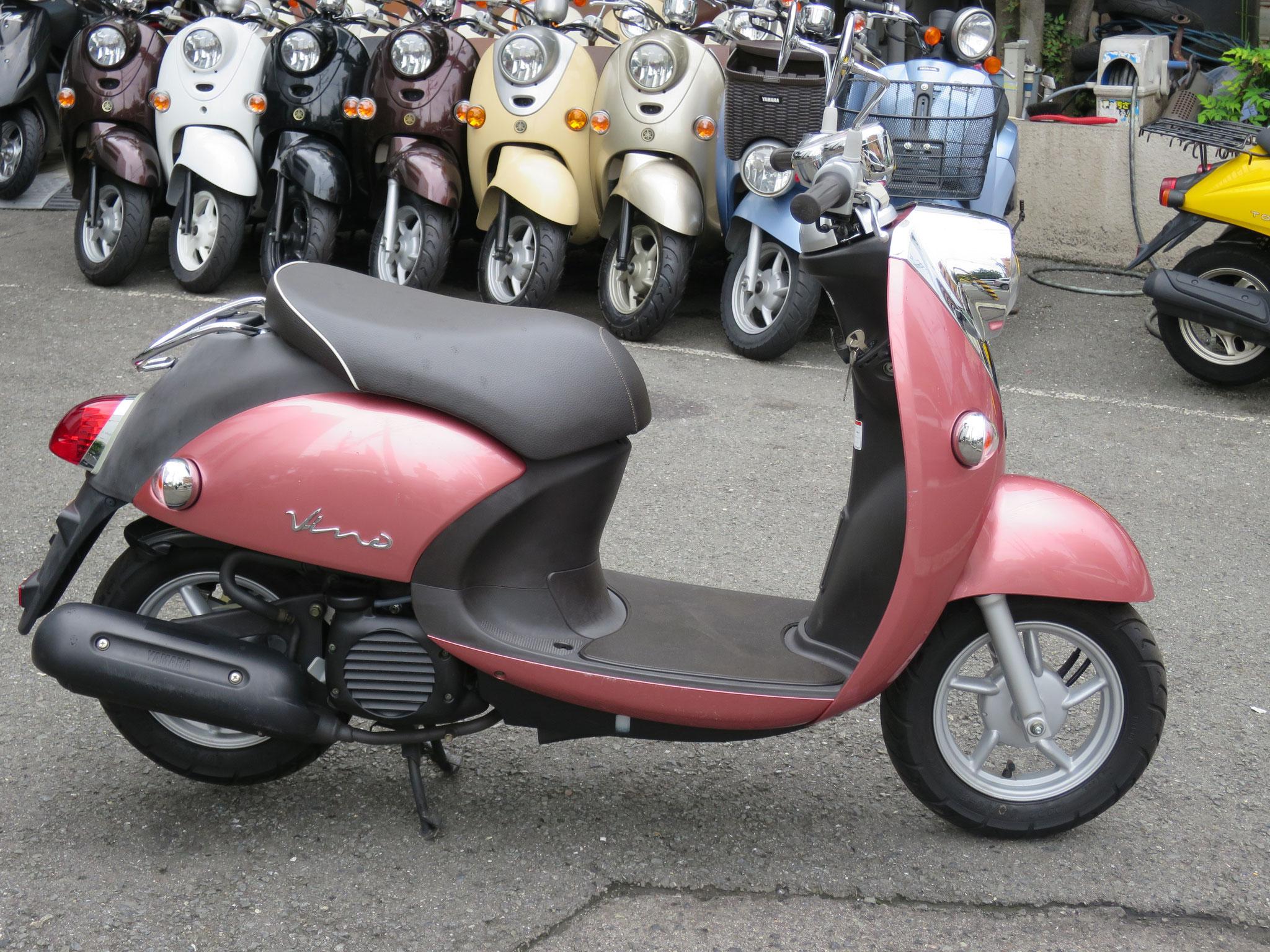 4st ビーノ ピンク/黒