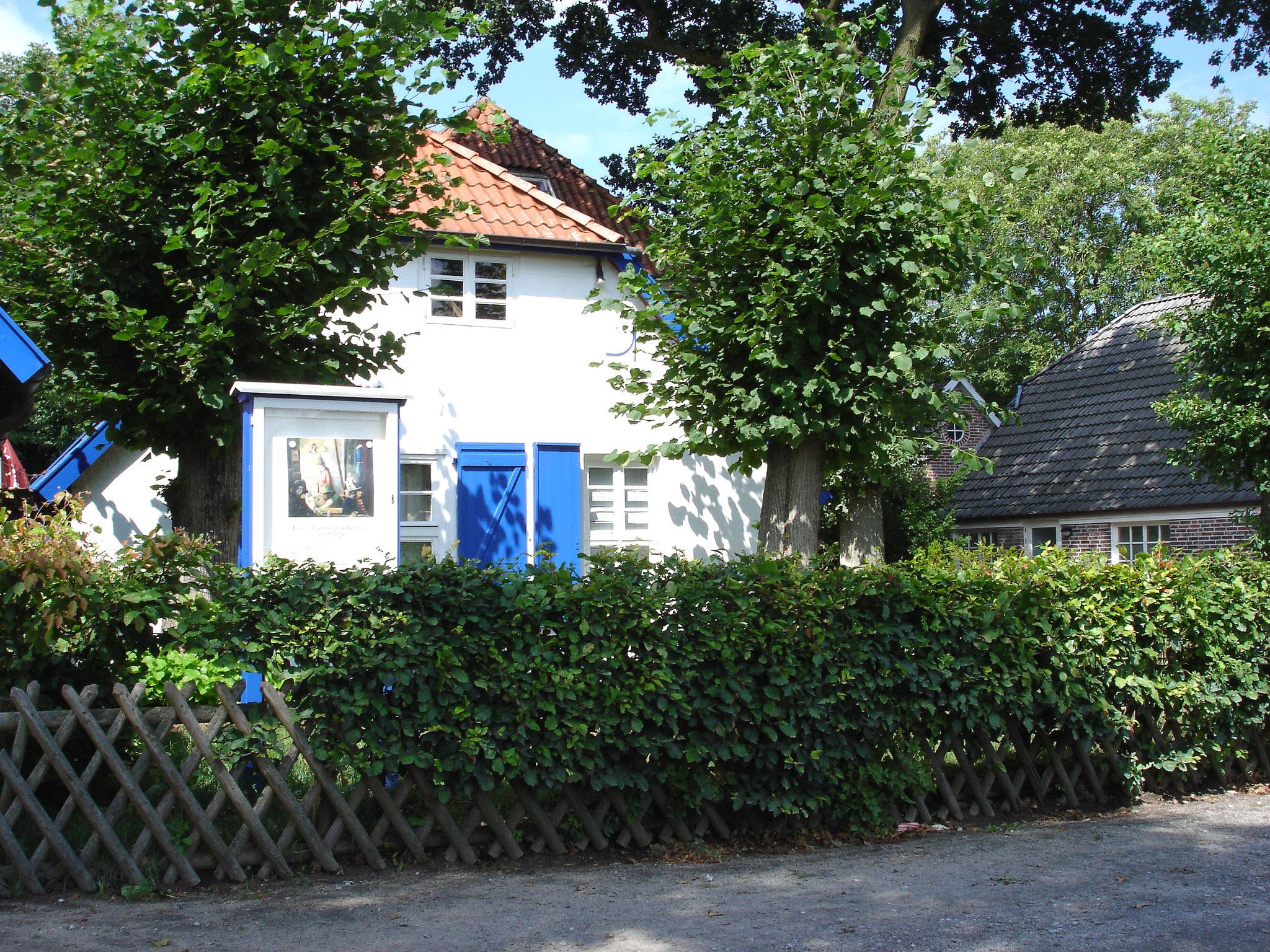 Heute ein Museum - Franz Radziwills Wohnhaus mit dem Atelier