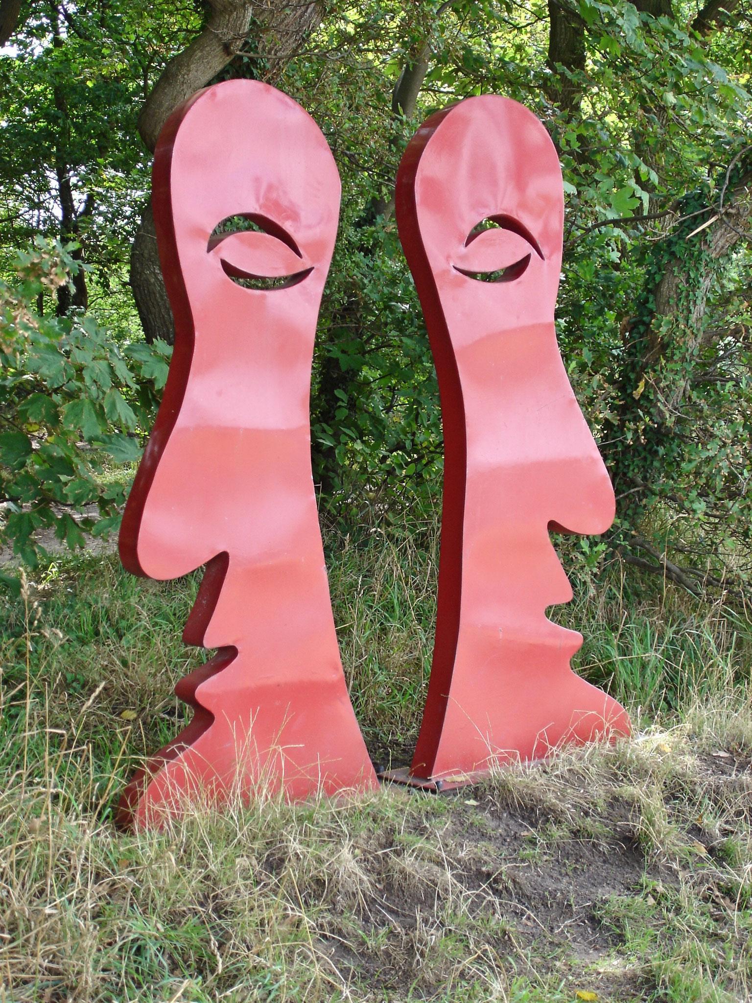 """Die Skulptur """"Kalle und Kalle"""""""