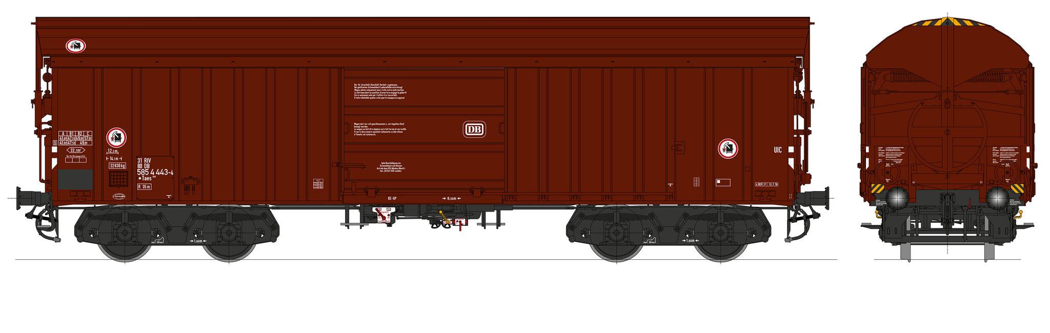 Bestell-Nr. 16063, Ep. 4b, Fahrgestell schwarz