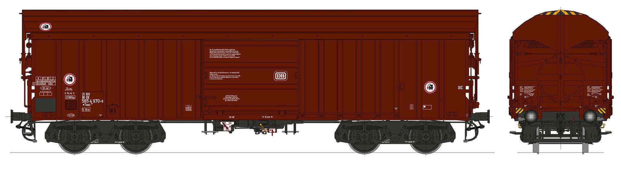 Bestell-Nr. 16064, Ep. 4b, Fahrgestell schwarz