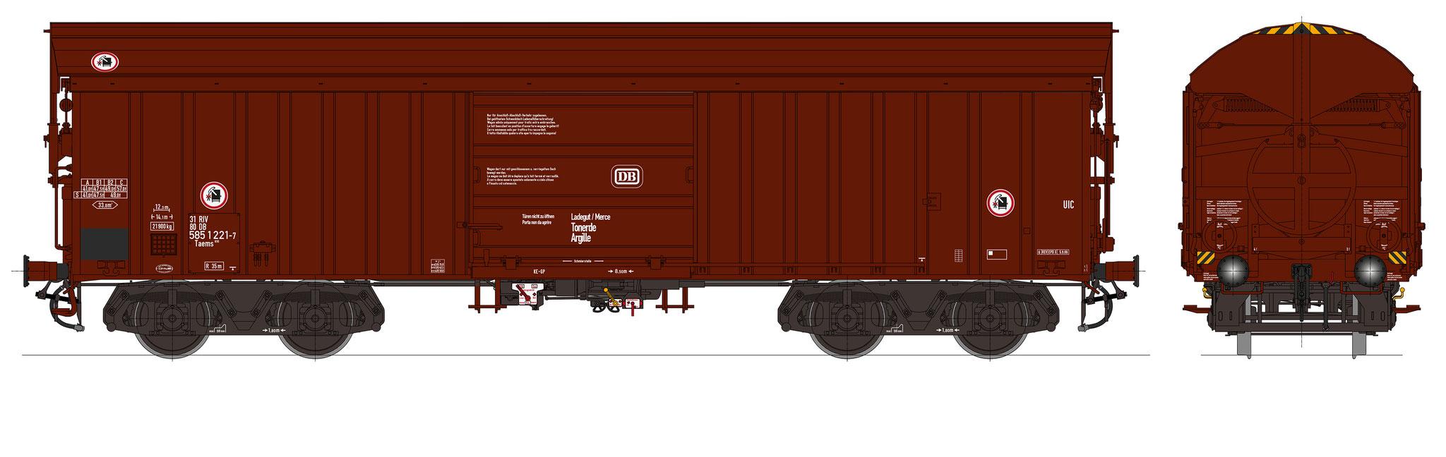Bestell-Nr. 16067, Ep. 4c, Fahrgestell graubraun