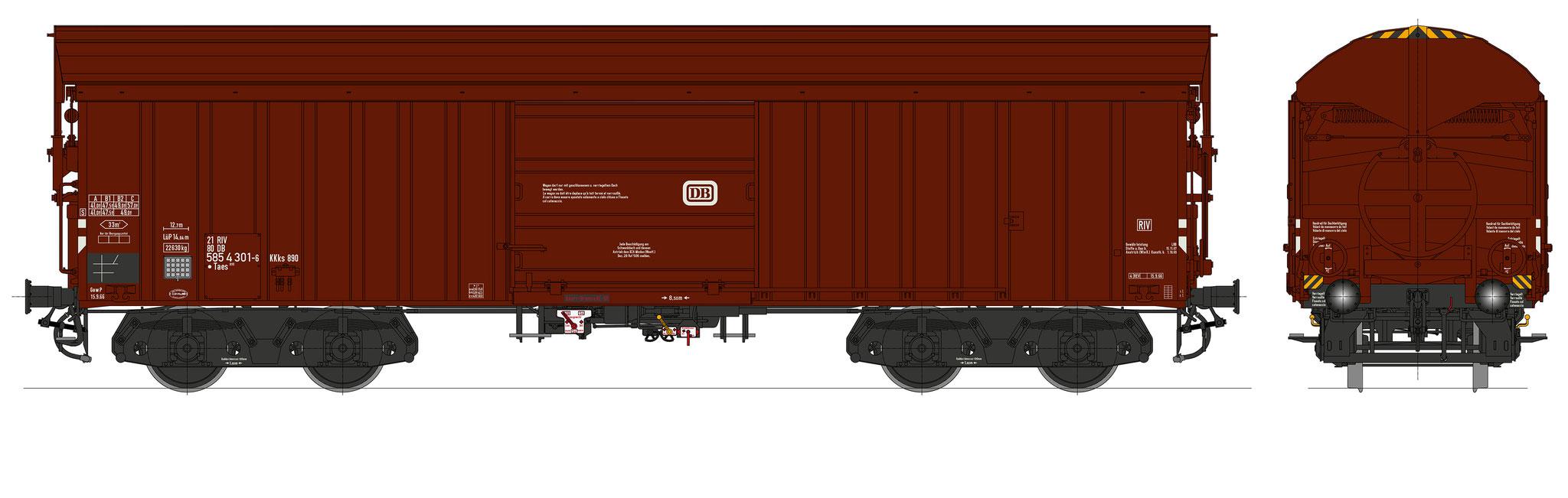 Bestell-Nr. 16061, Ep. 3b/4a, Fahrgestell schwarz