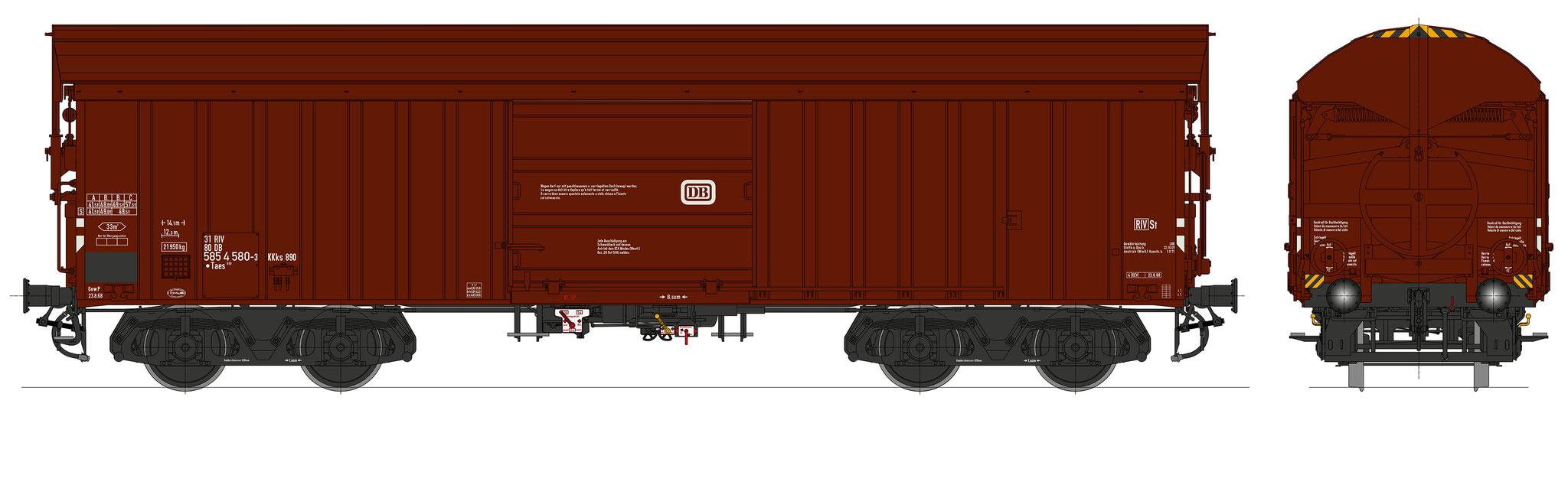 Bestell-Nr. 16062, Ep. 3b/4a, Fahrgestell schwarz