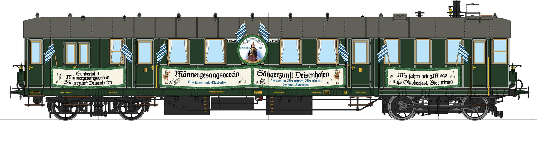 """Best.-Nr. 11041, Lok-Nr. 14501, """"Sängerzunft"""", Bauzustand 1906"""