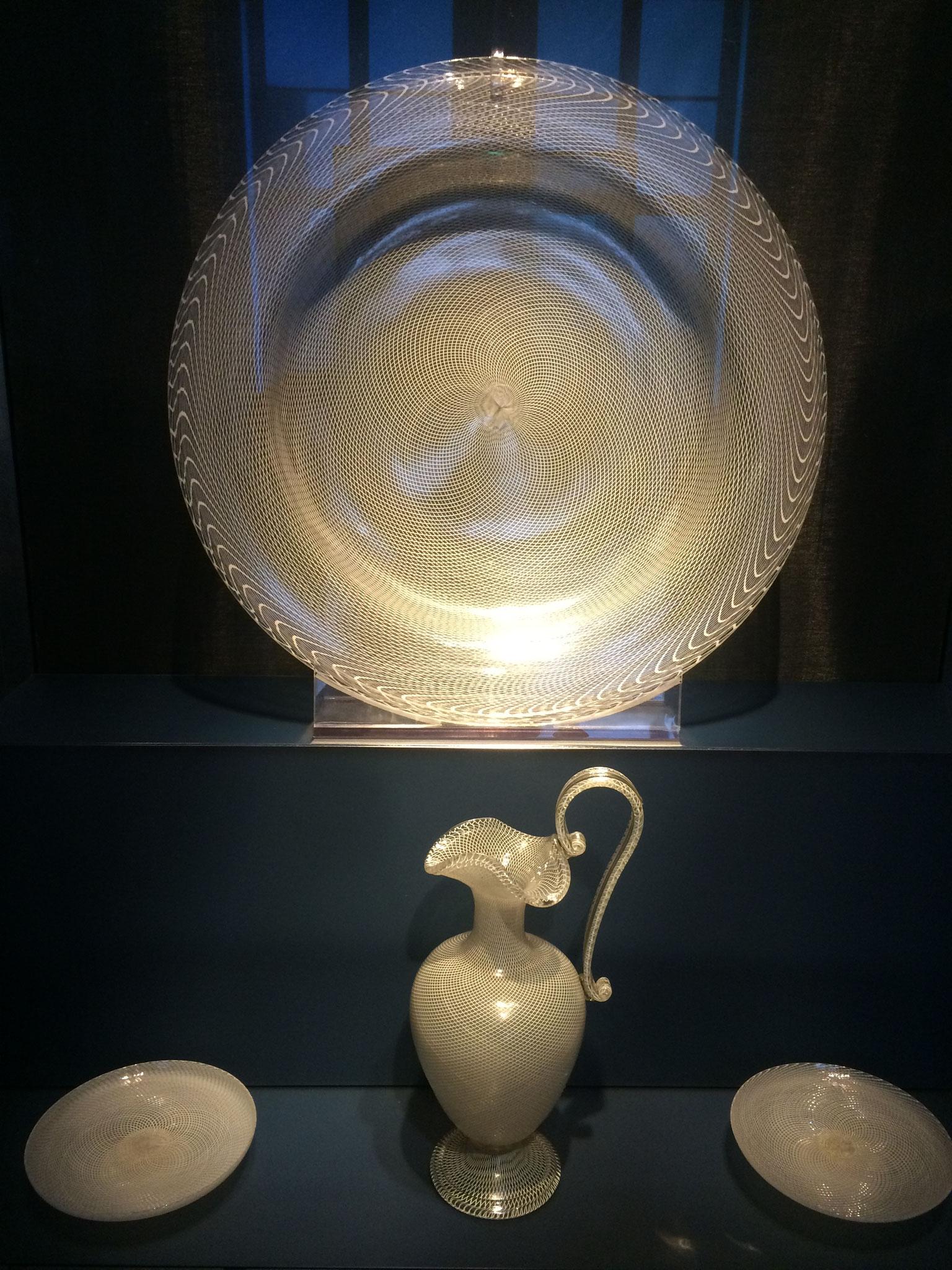 Venezianisches Netzglas