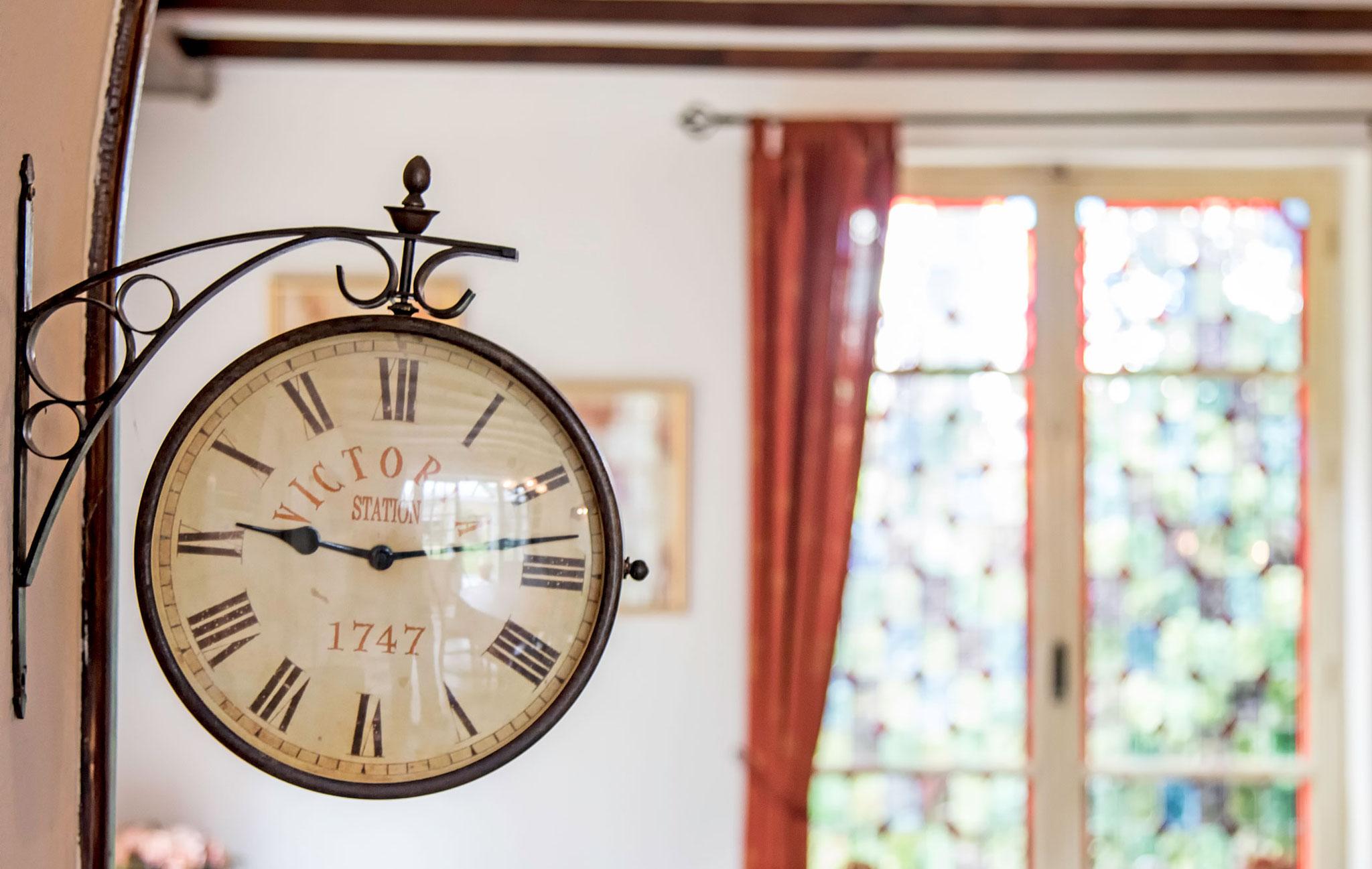 Überall im Haus finden Sie nostalgische Reminiszenzen