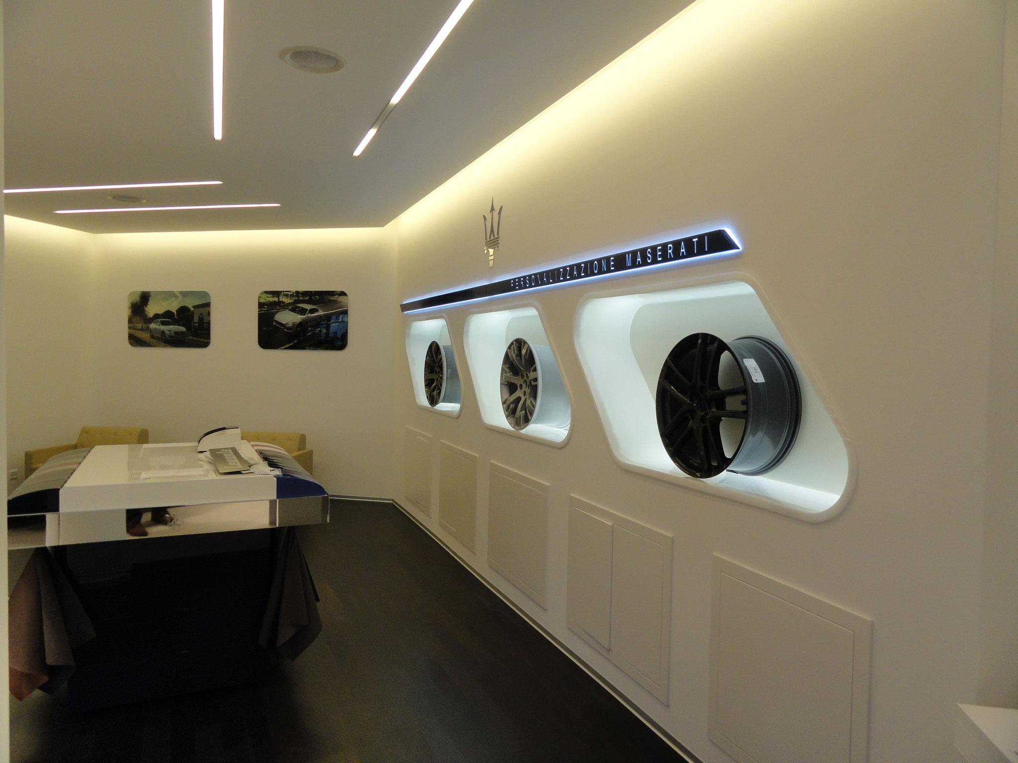 Maserati Ausstellungshalle