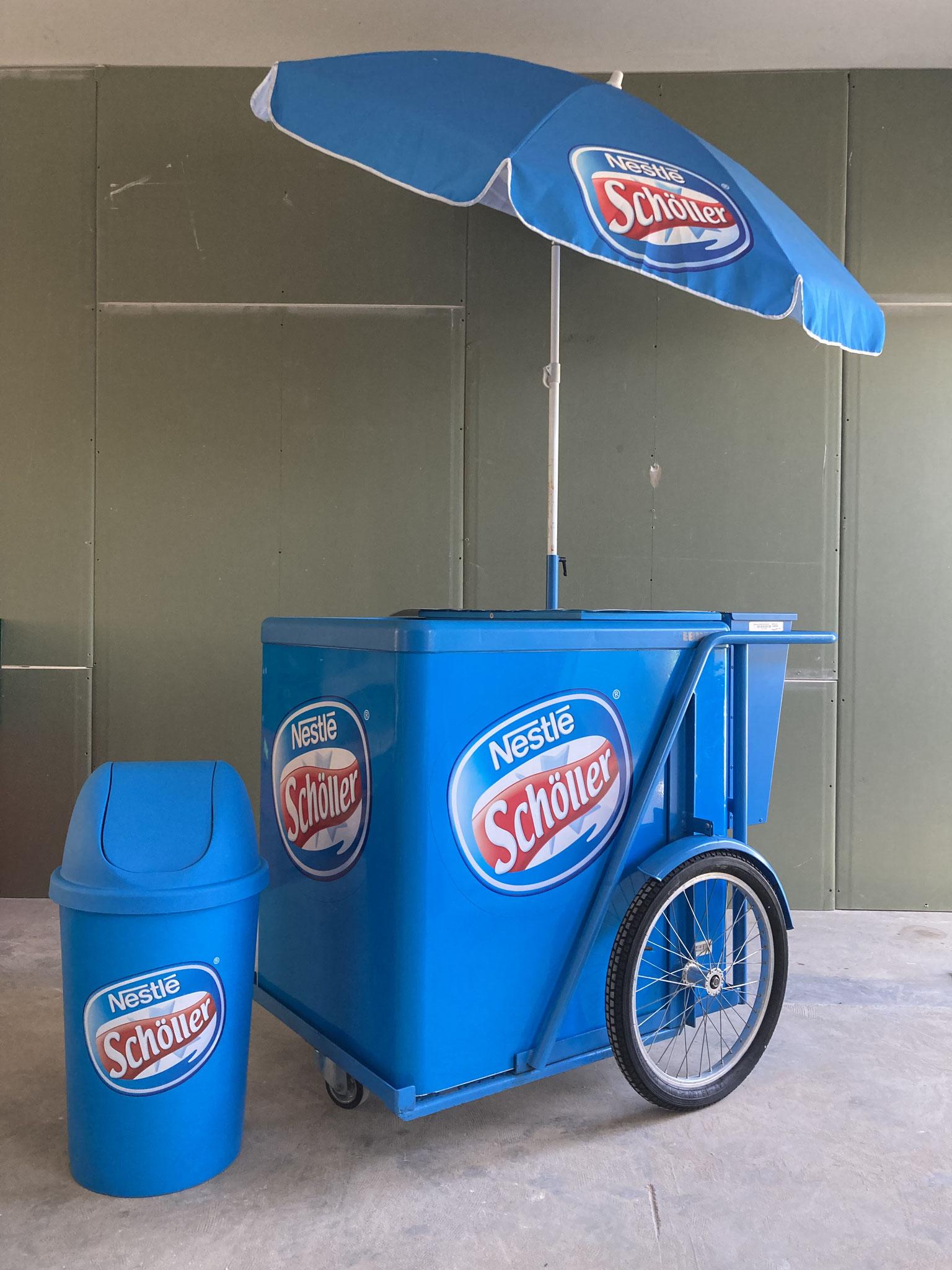 Mobiler Eiswagen
