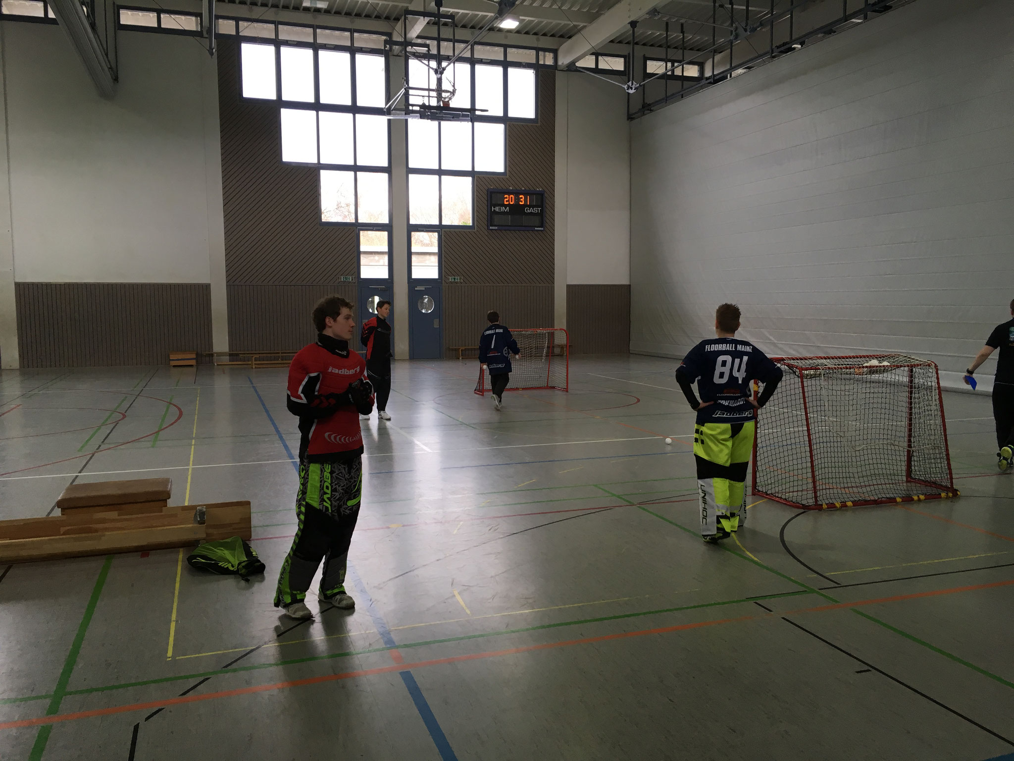 Tore werfen? Sind wir hier beim Handball?