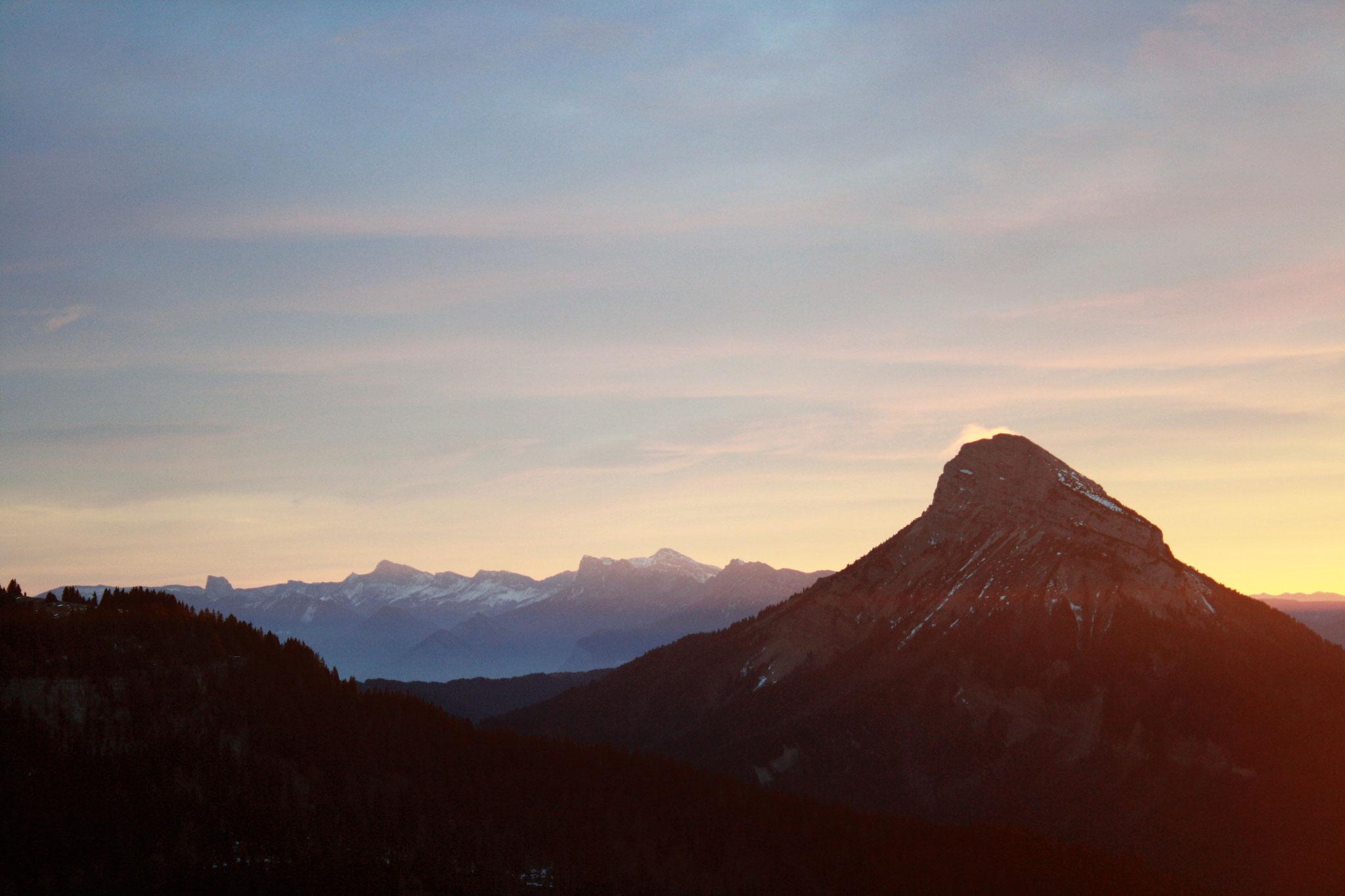 Chamechaude et le Mont Aiguille