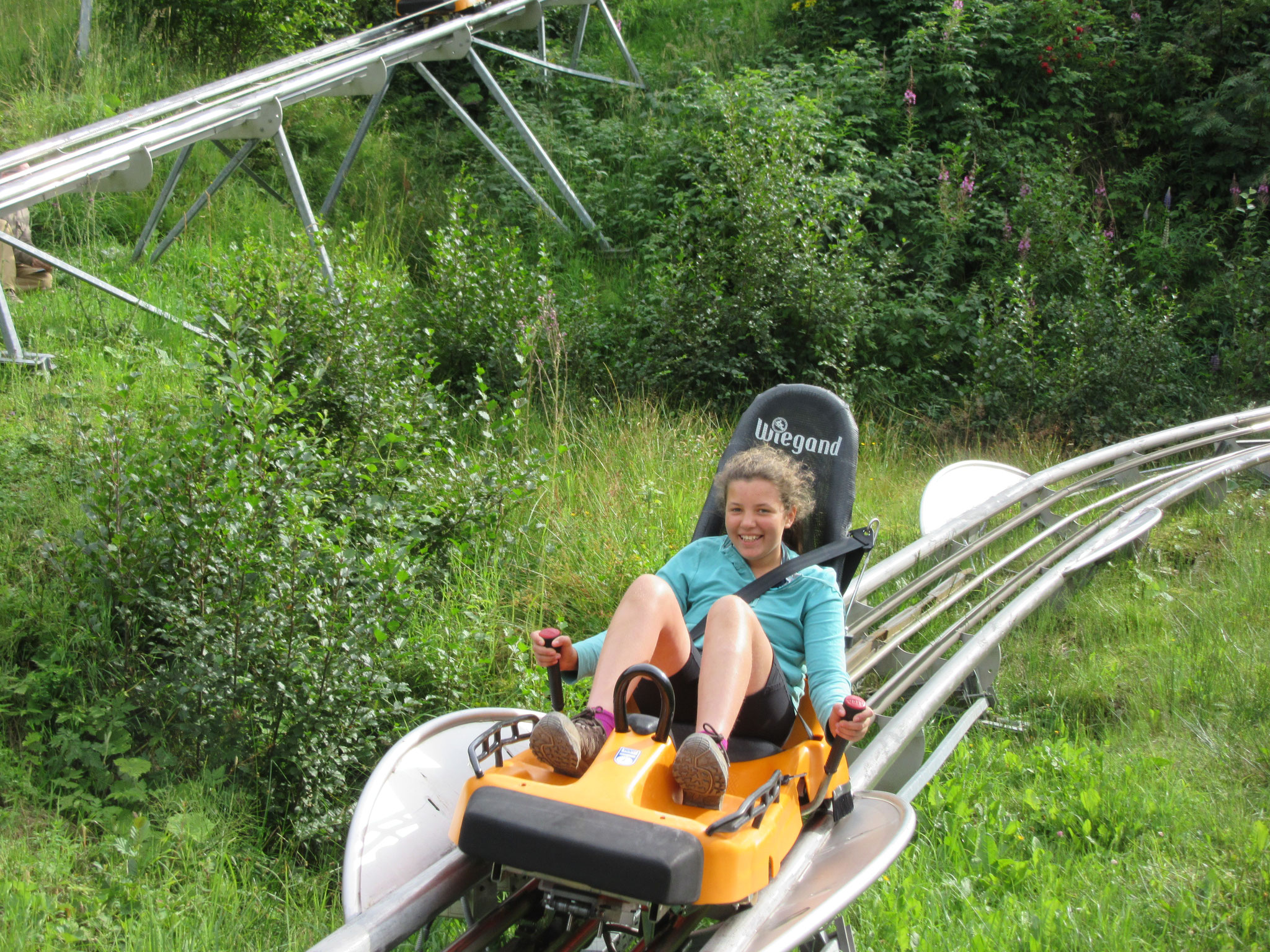 The summer roller-coaster at Rittisberg