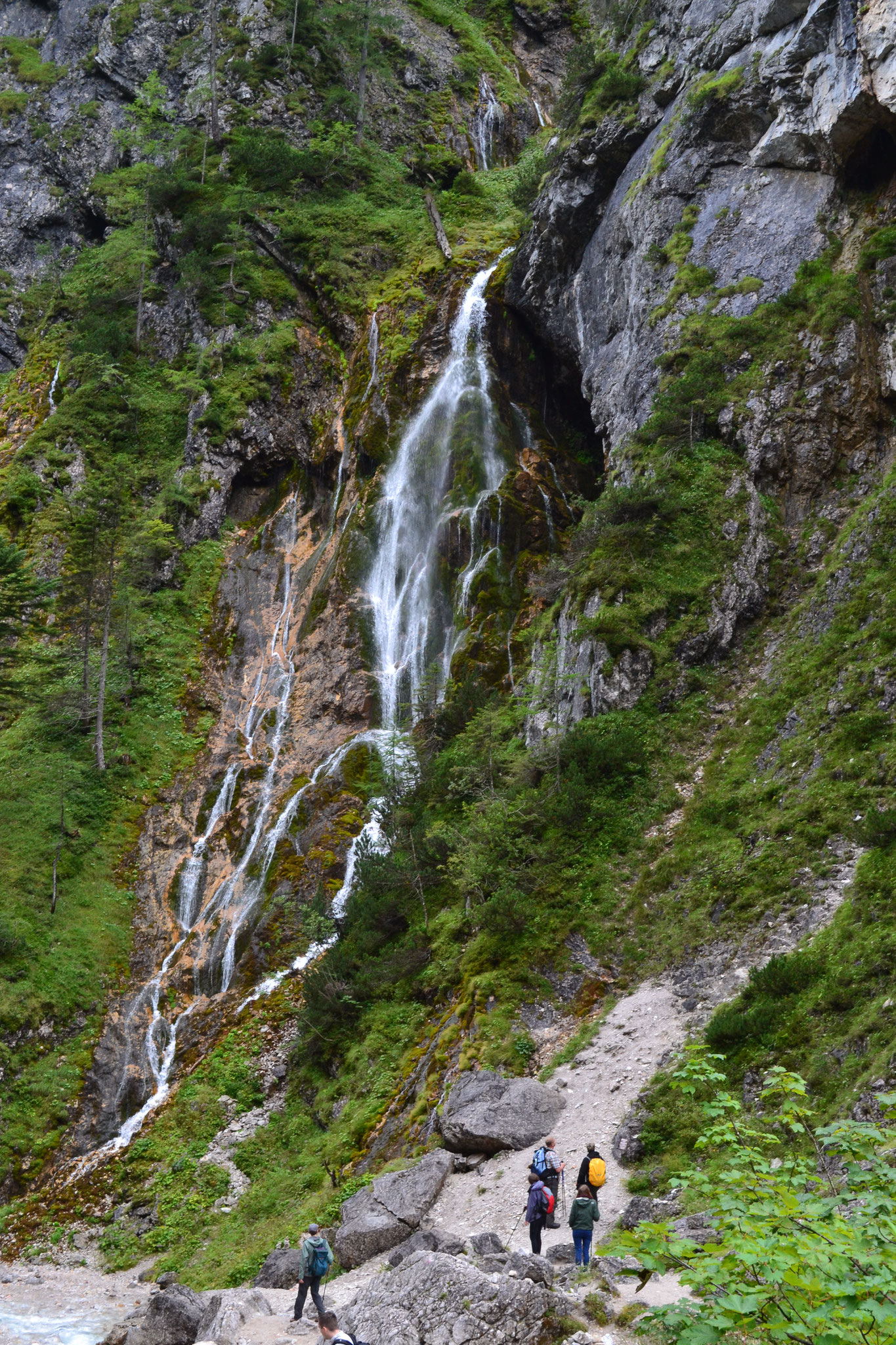 Waterfall in the Silberkarklamm