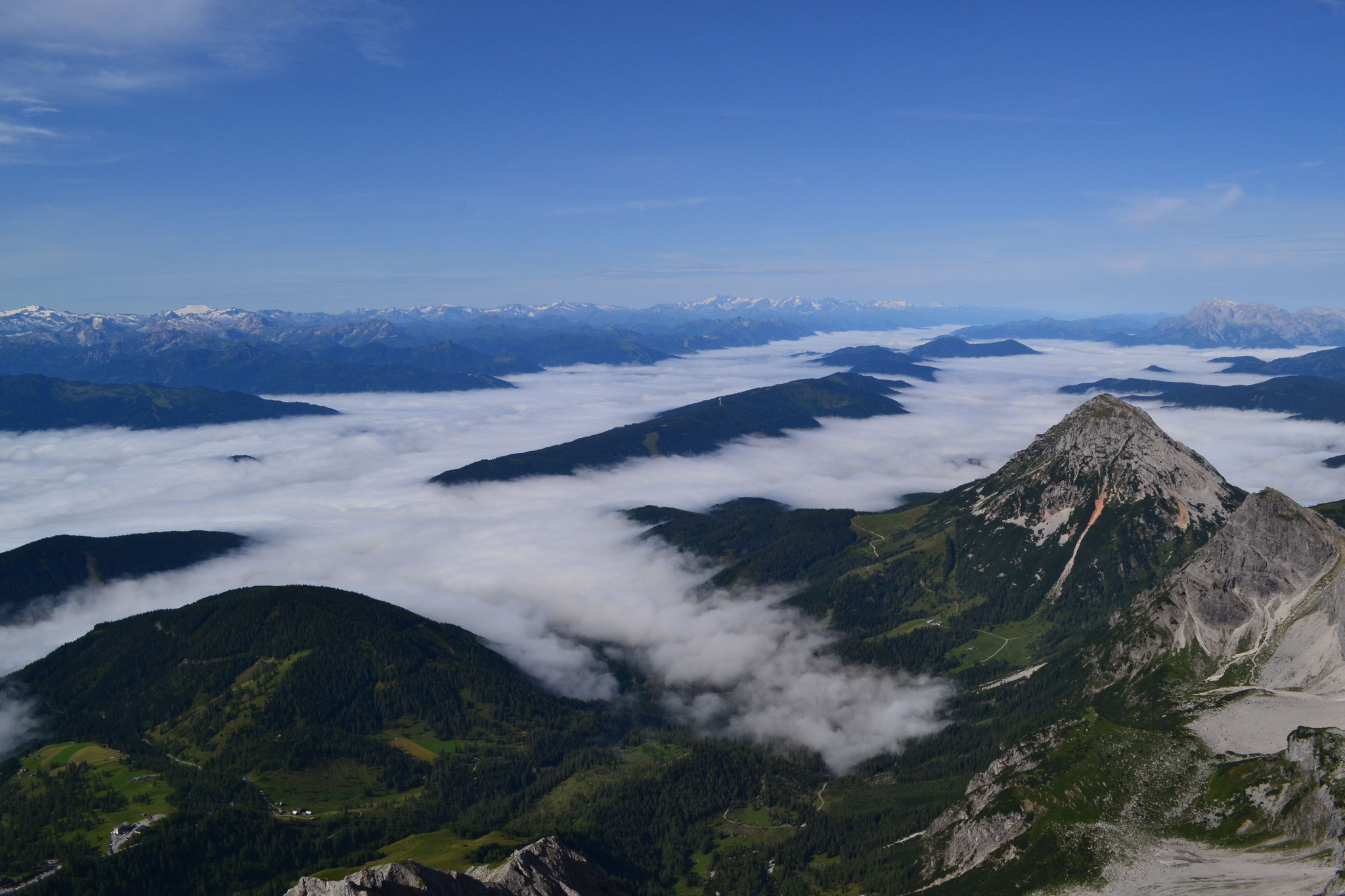 View from Dachstein to the Tauern