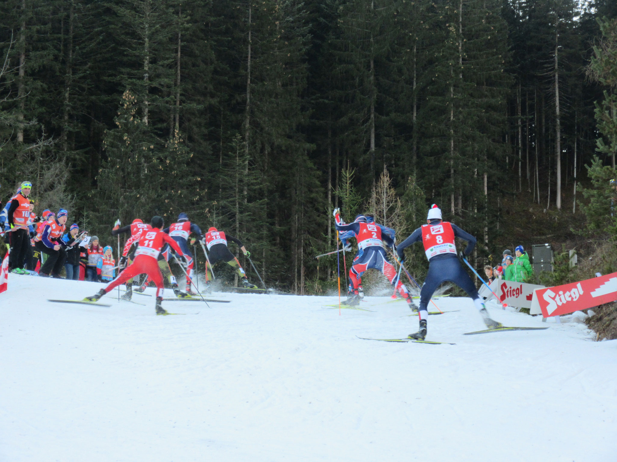 The FIS World Cup Nordic Combined in Ramsau each December