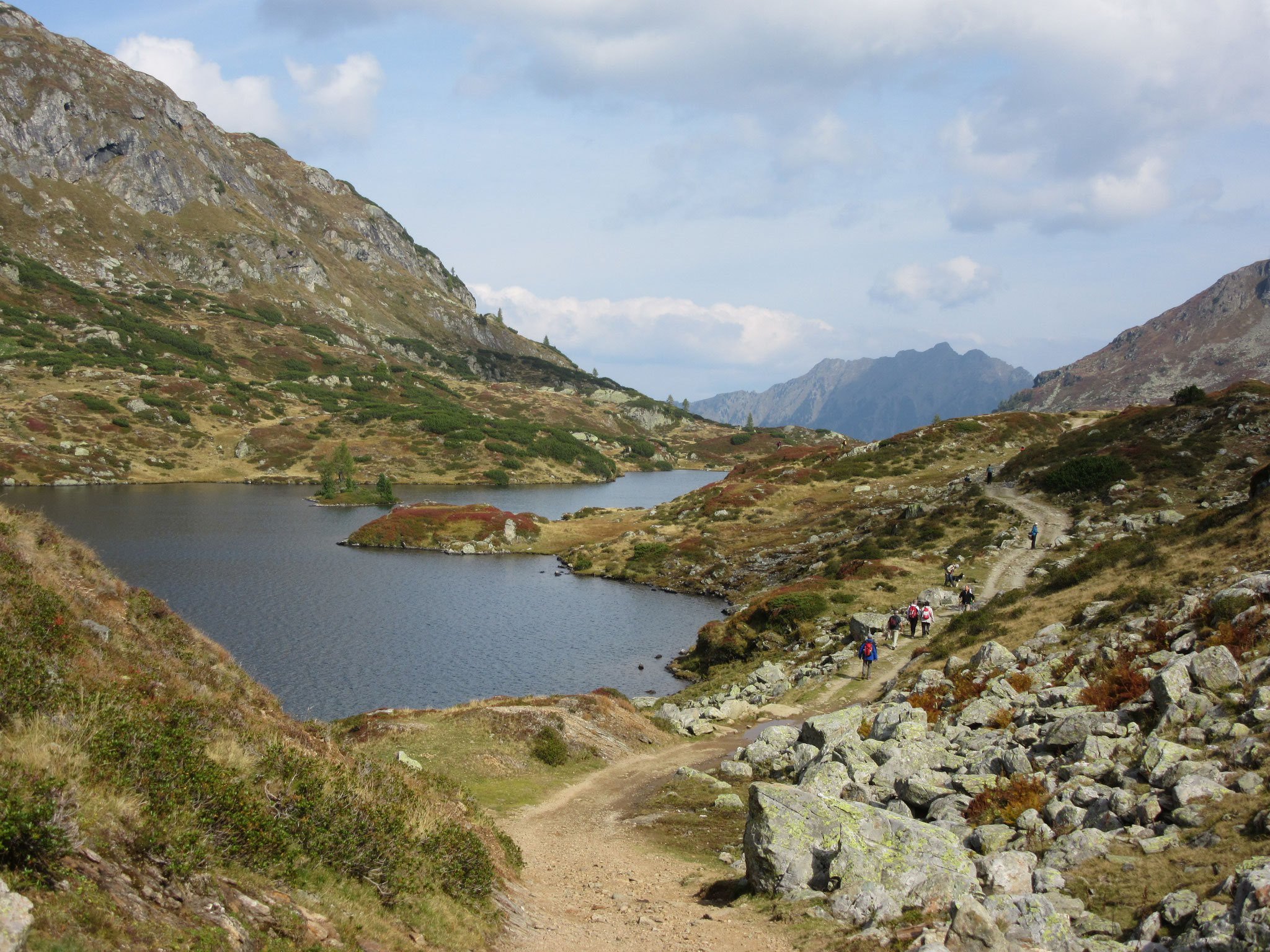 Giglachsee in the Schladminger Tauern
