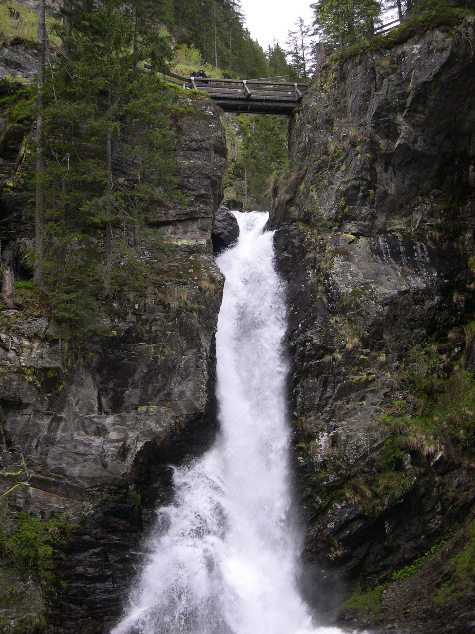 Riesach Wasserfall, Untertal