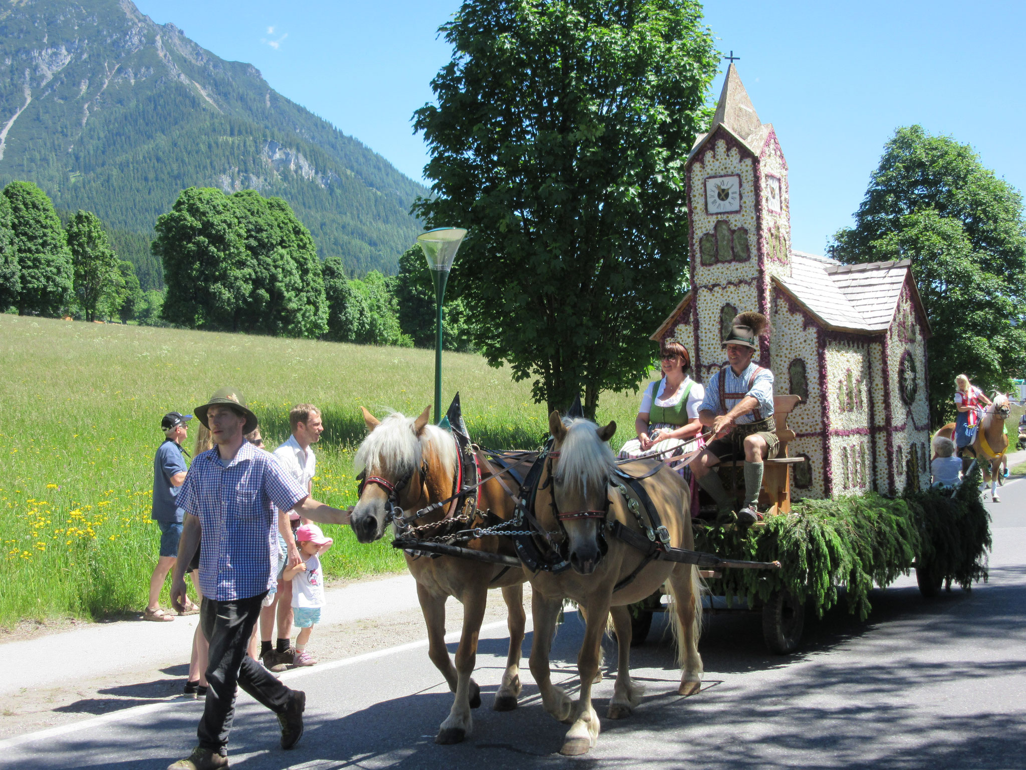 Ramsau Fruhlingfest in June