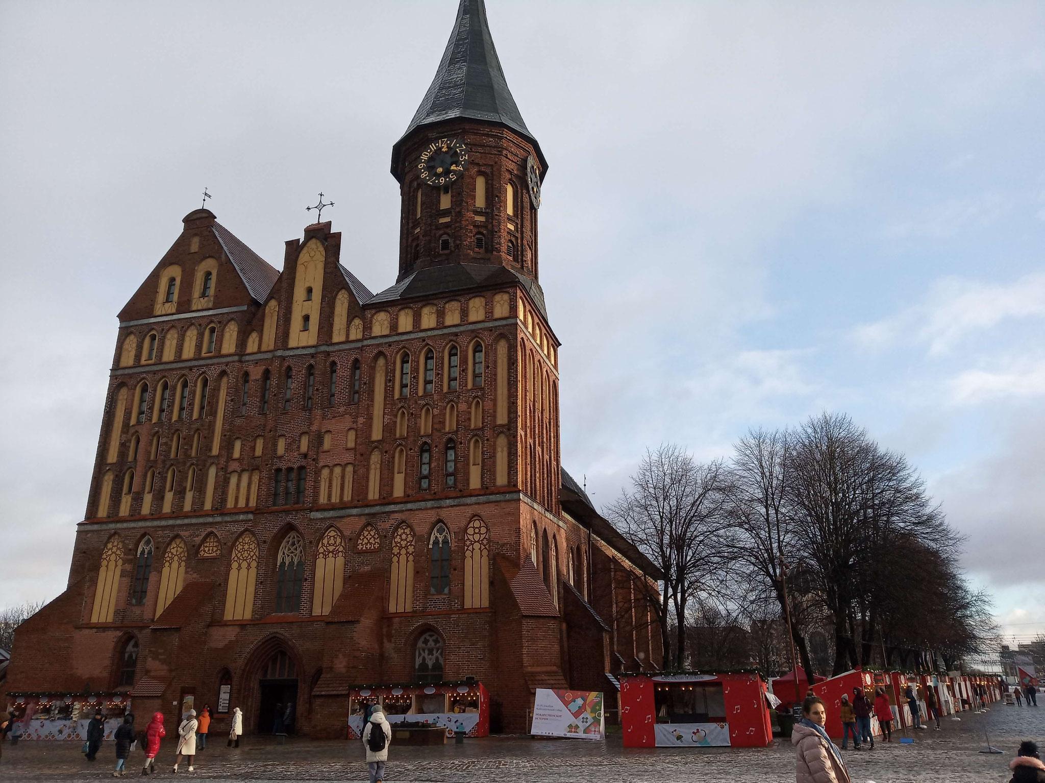 Königsberger Dom in der Weihnachtszeit