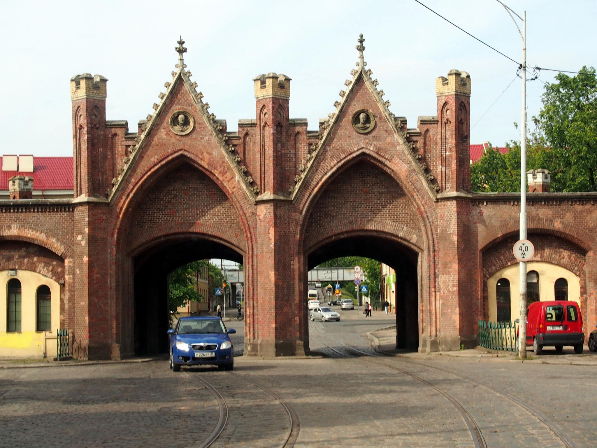 Brandenburger Tor, Königsberg