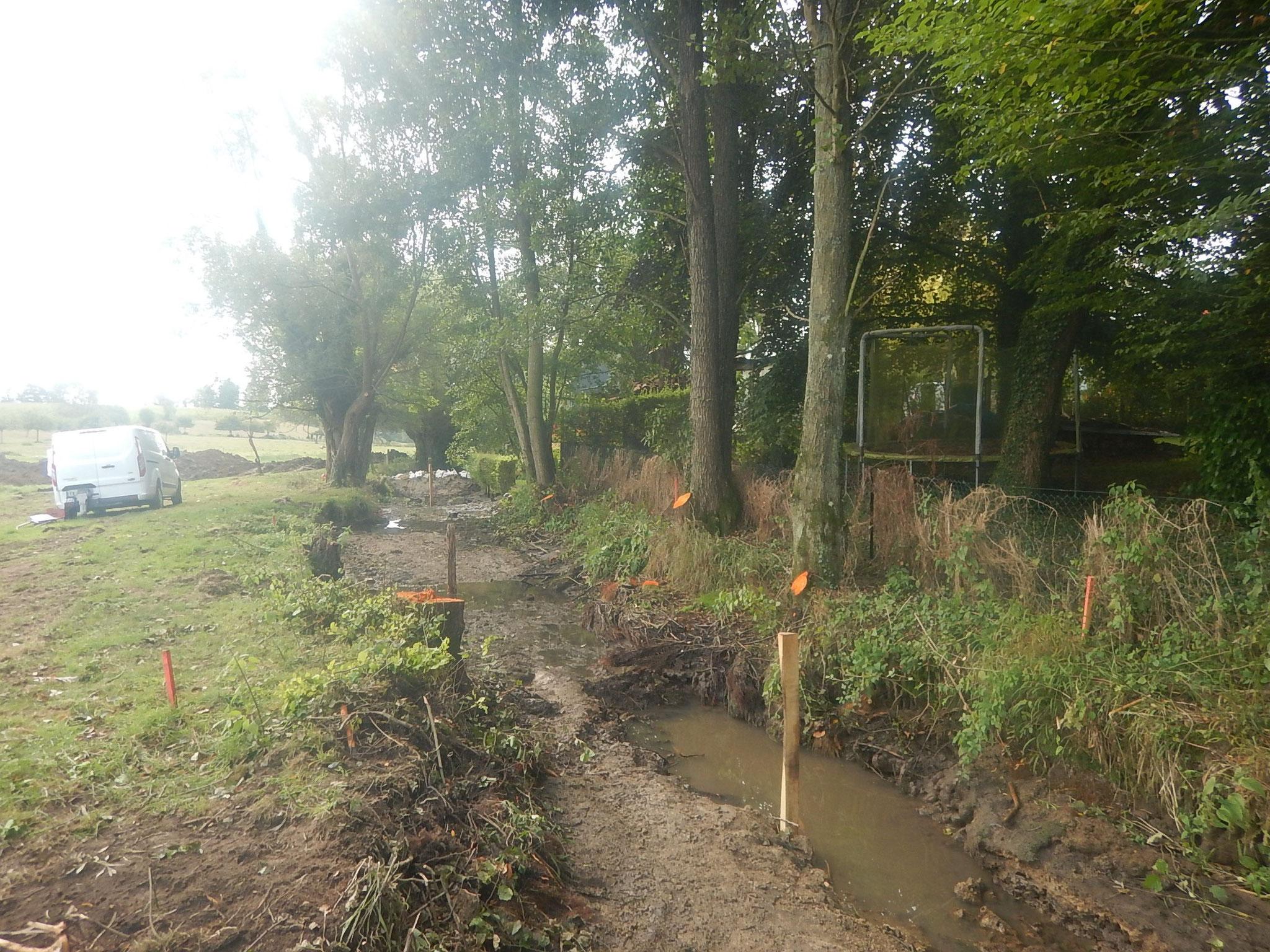 Assèchement du cours principal de la Béthune suivi d'une pêche de sauvetage