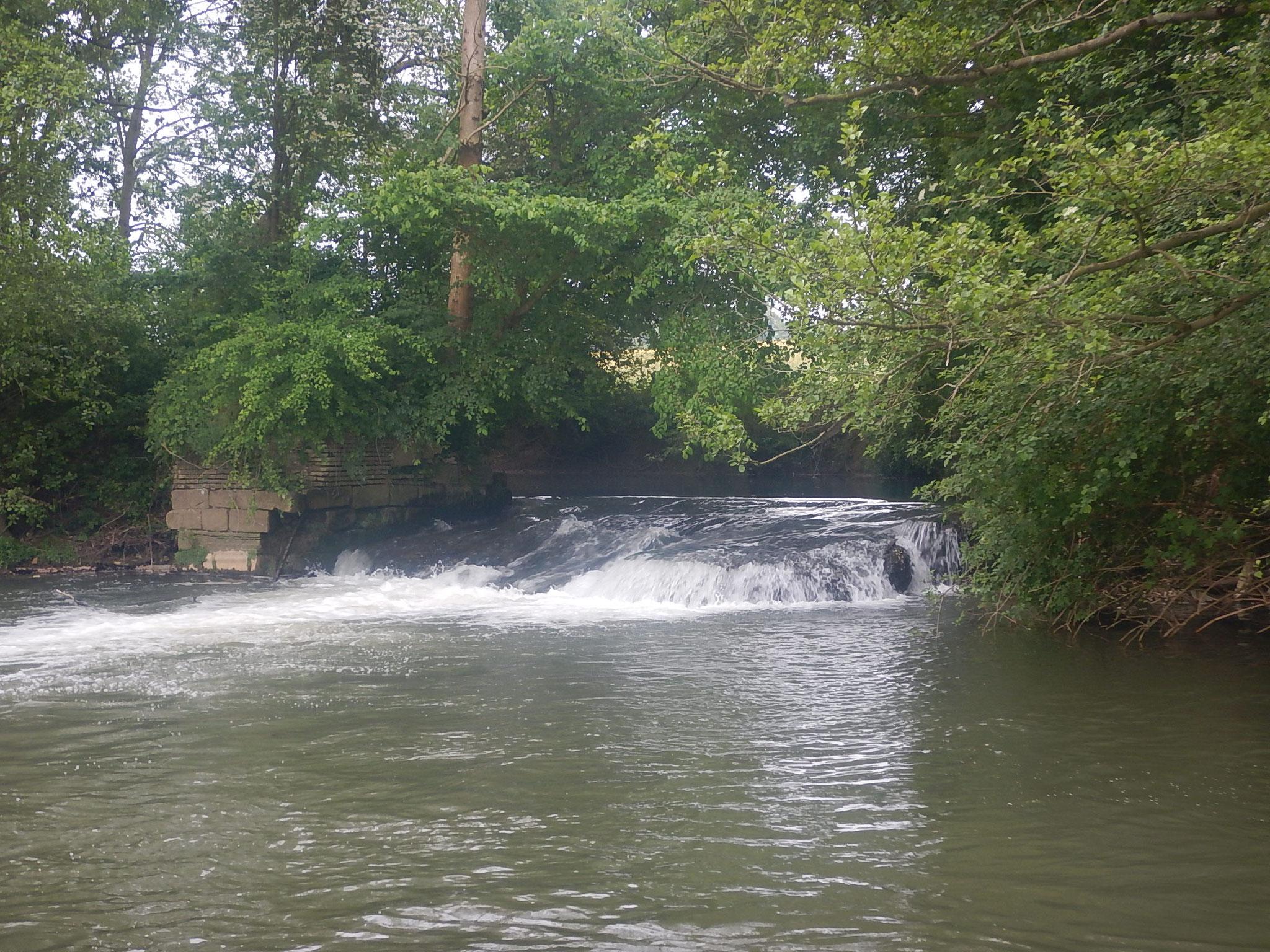 La chute de Ricarville du Val.