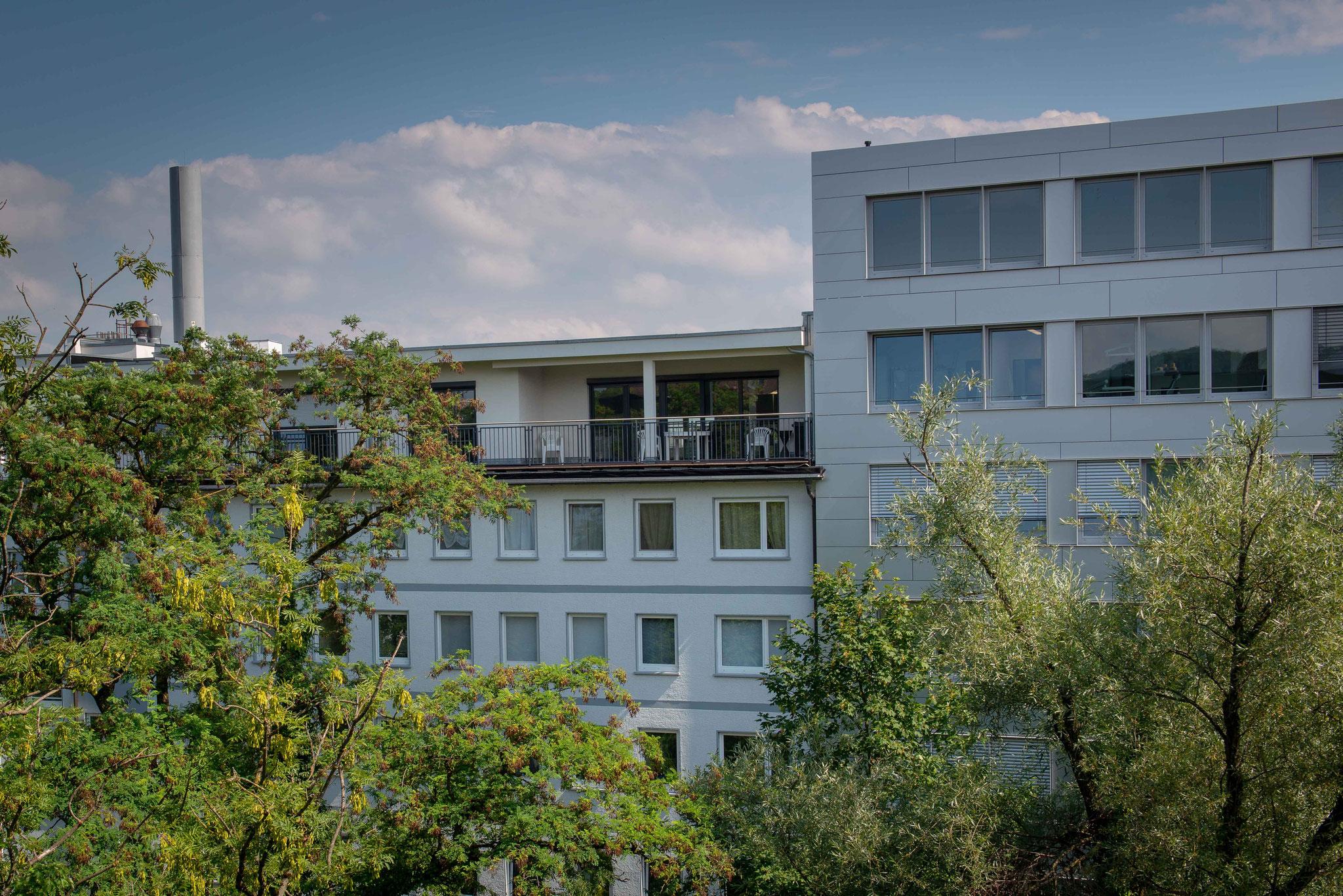 Aufstockung - Erweiterung um ein Penthouse