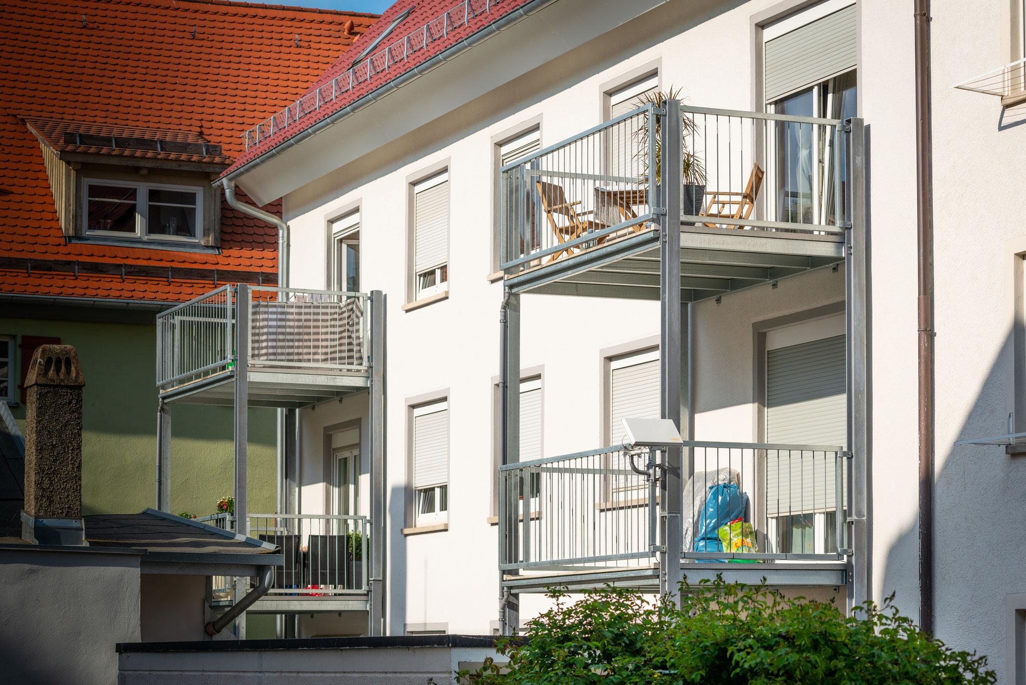Anbau - Balkon