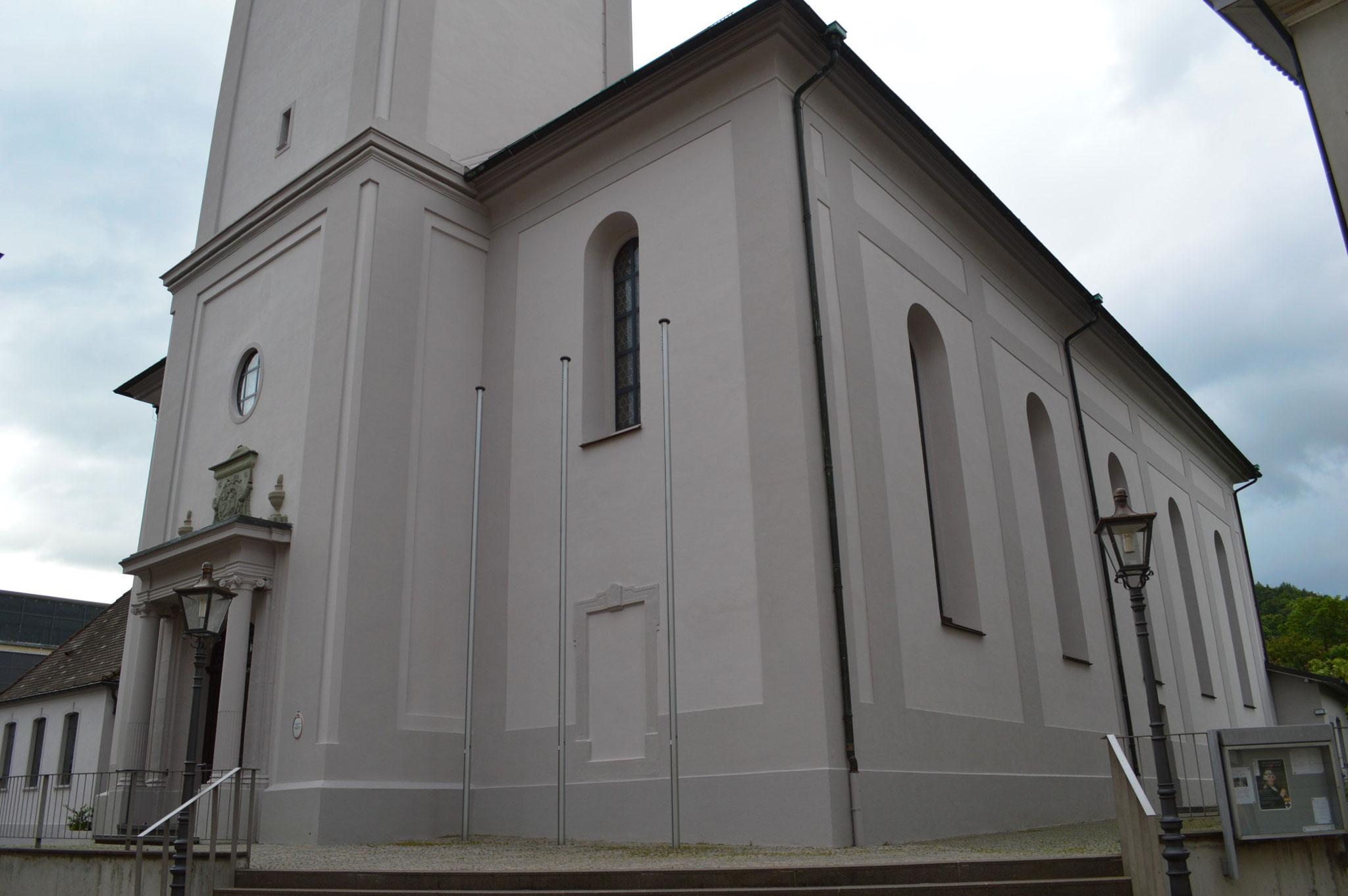 Fassade Liebfrauenkirche Waldshut