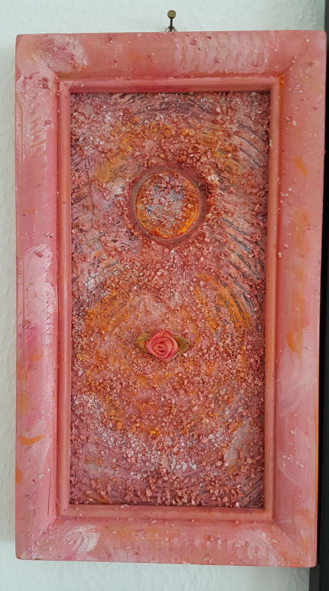 Engel 3, Holz 3D, 14 x 24,5cm Fr. 150.--